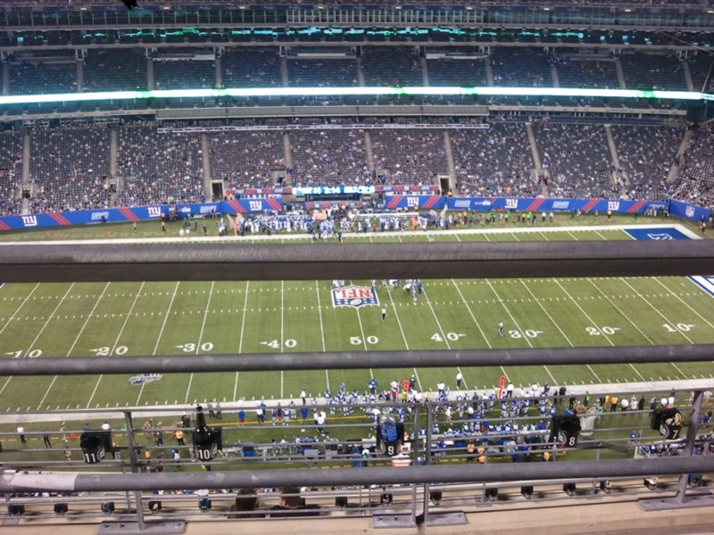 View From Row 5 in 300 Level