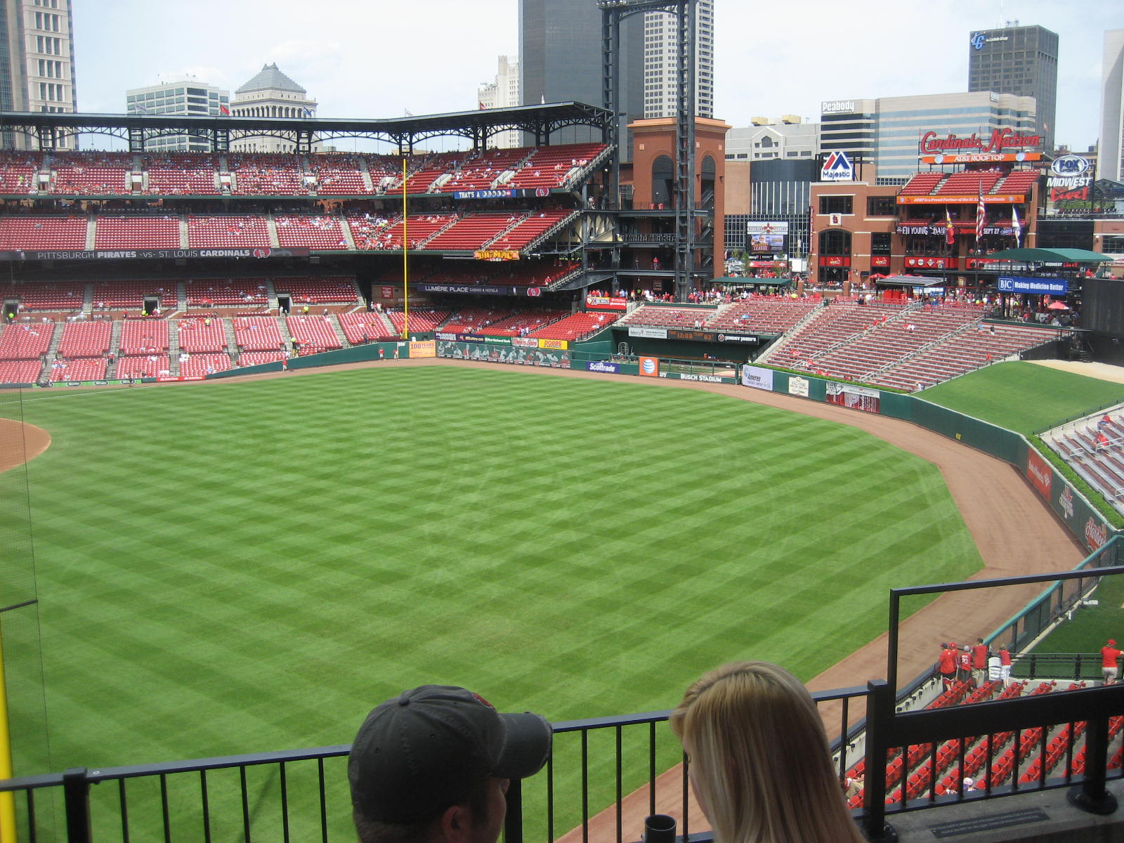 Busch Stadium Section 230 - RateYourSeats.com