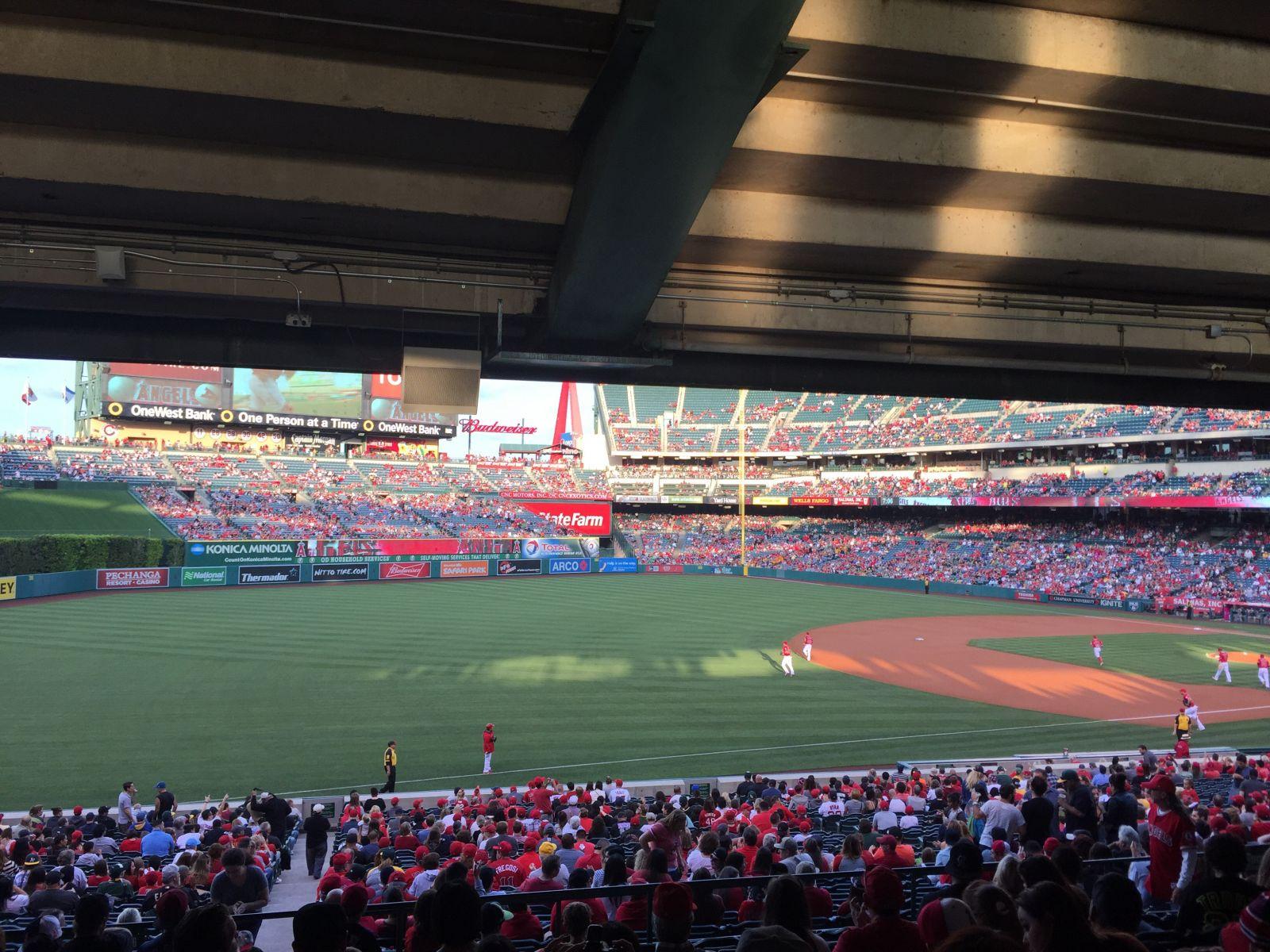 Angel Stadium Section 206 - RateYourSeats.com