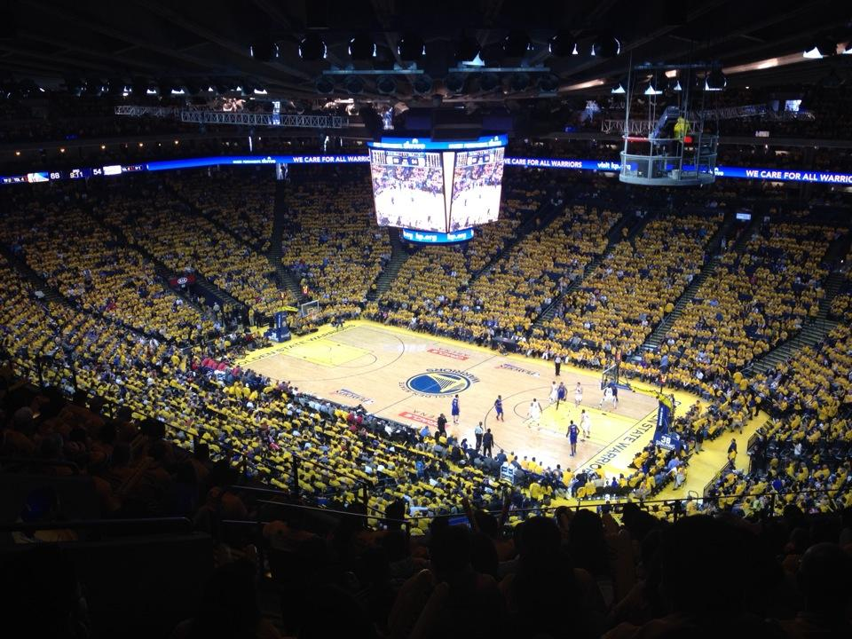 Oracle Arena Section 229 Golden State Warriors