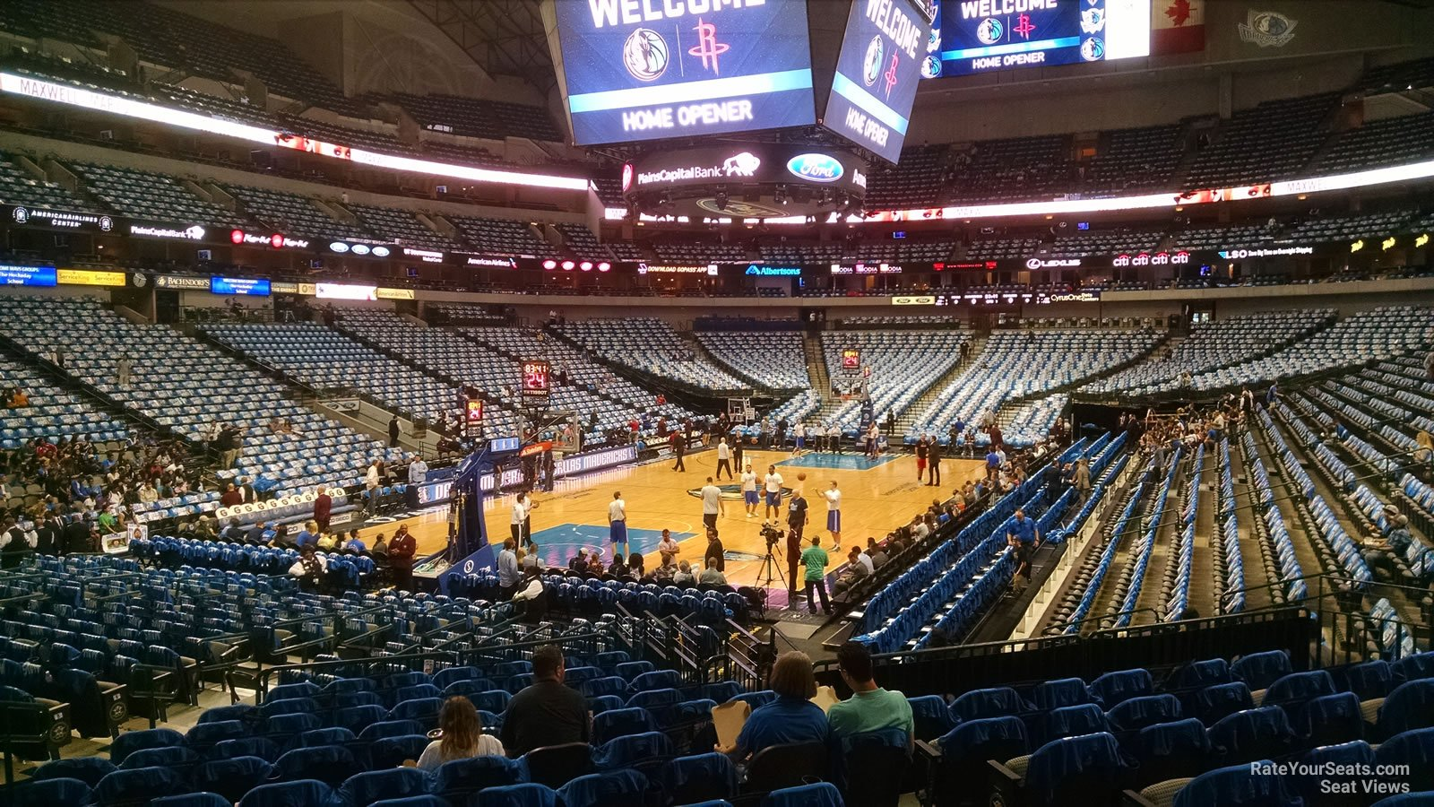 American Airlines Center Section 111 Dallas Mavericks Rateyourseats Com