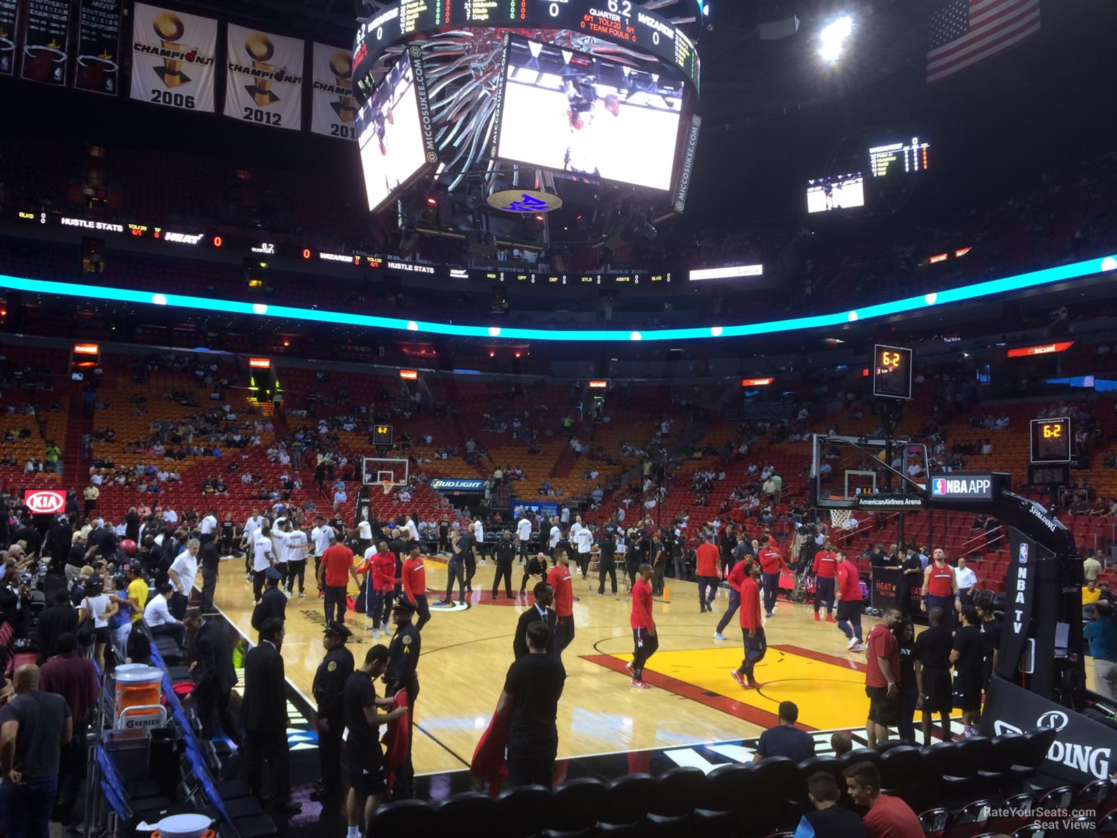 Americanairlines Arena Dewars 101 Miami Heat