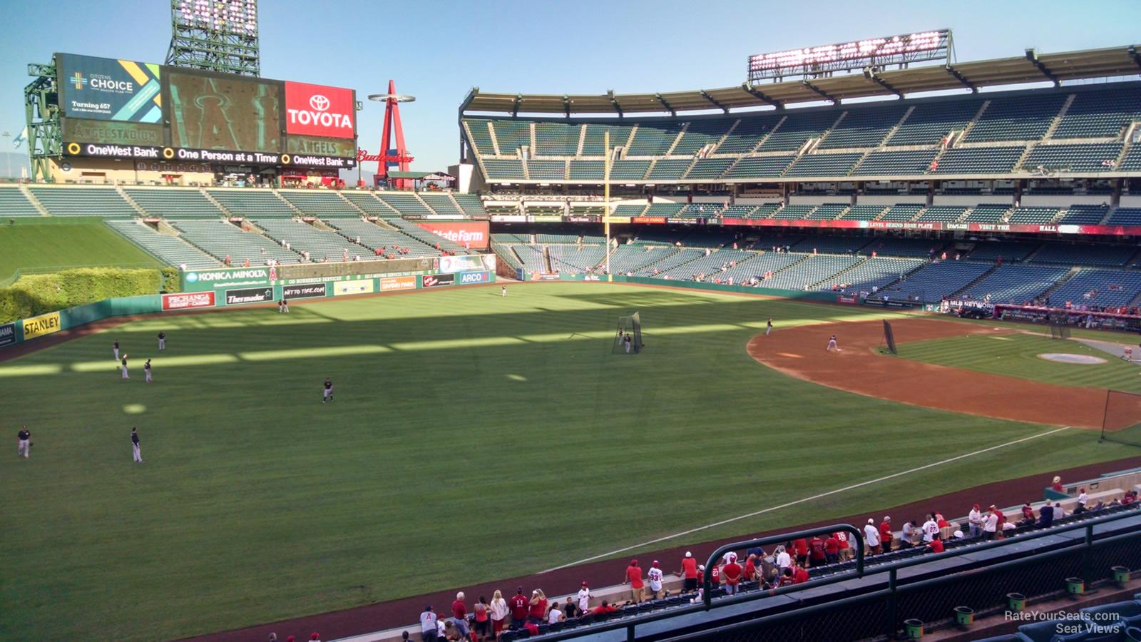 Angel Stadium Section 307 - RateYourSeats.com