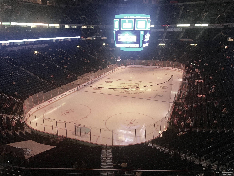 Bridgestone Arena Section 319 Nashville Predators
