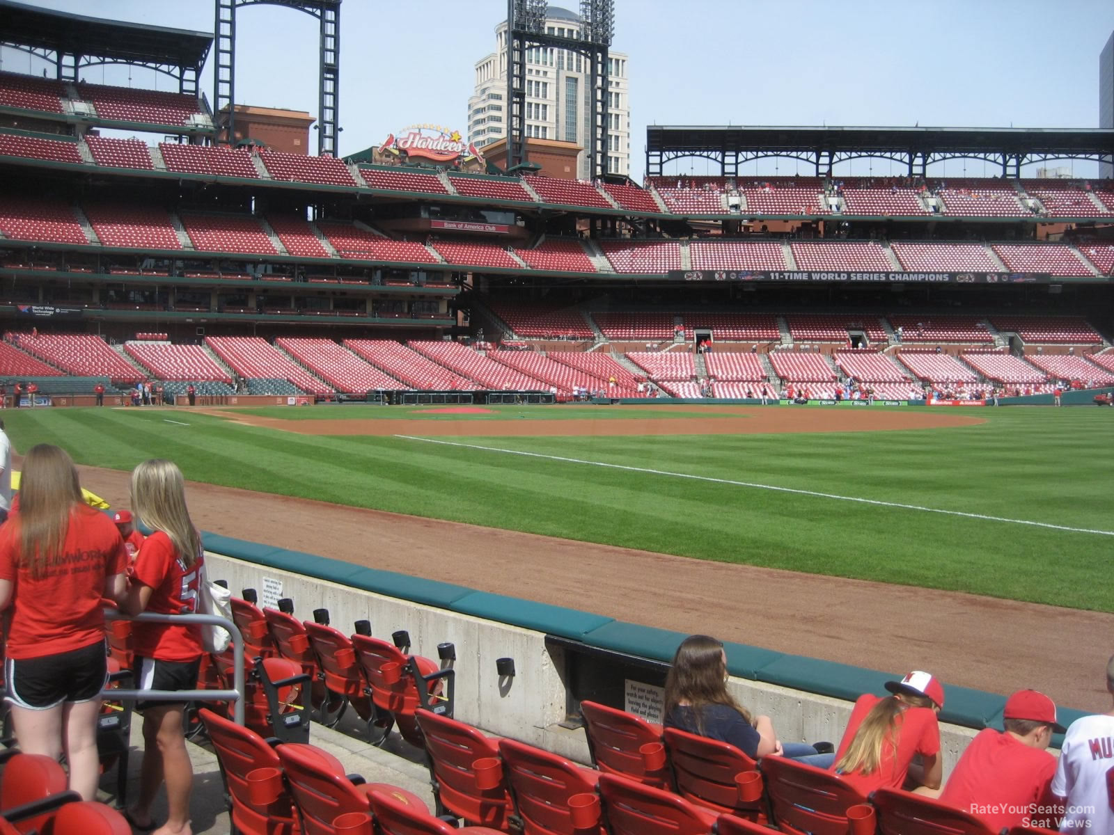 Busch Stadium Section 136 - RateYourSeats.com