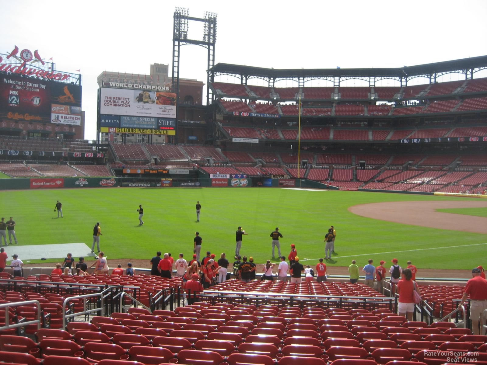 Busch Stadium Section 164 - RateYourSeats.com