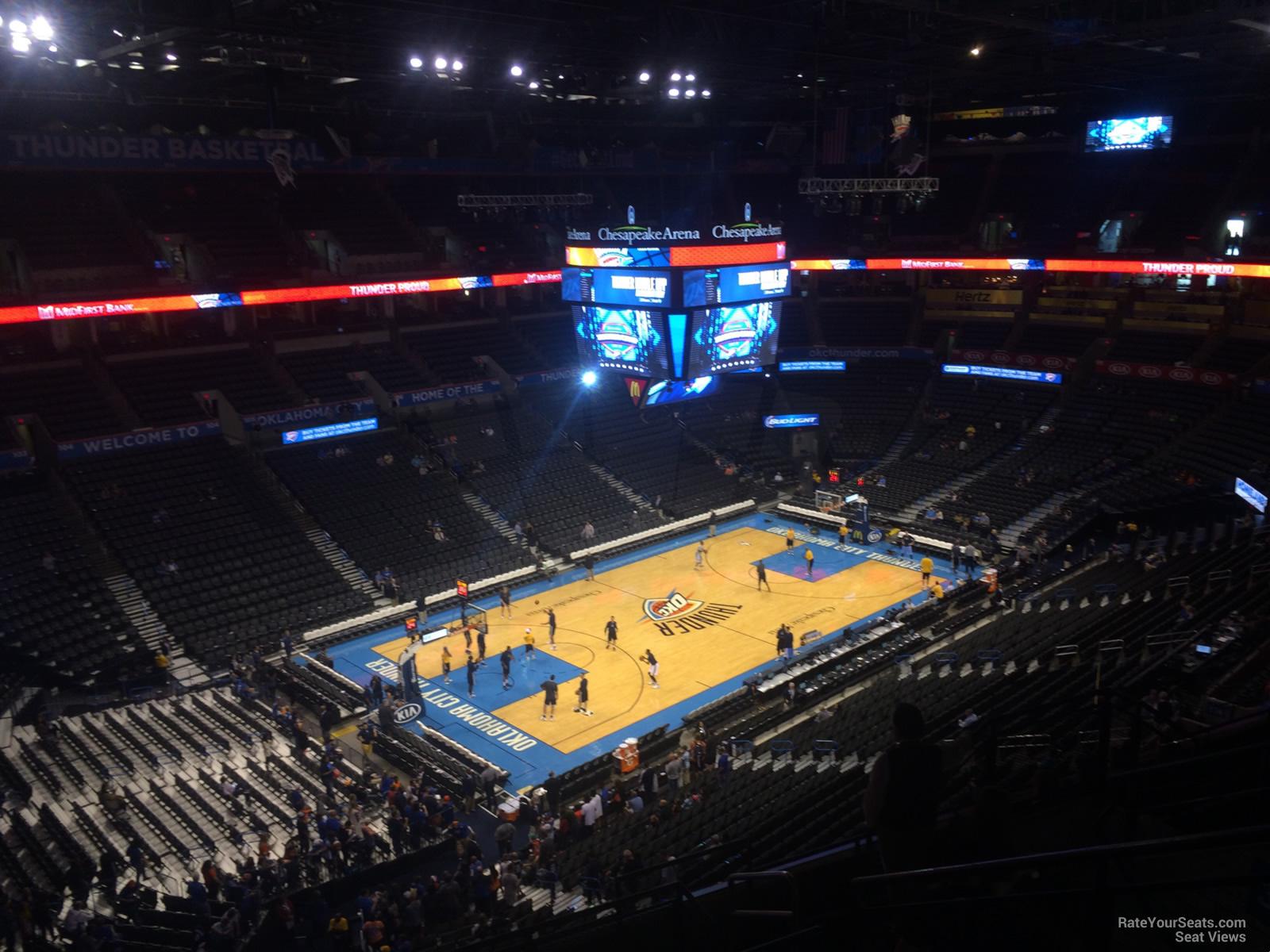 Chesapeake Energy Arena Section 327 Oklahoma City