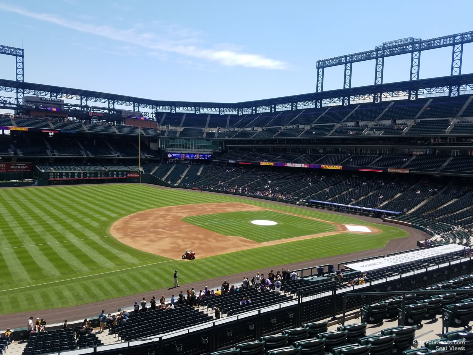 Coors Field Section 243 - RateYourSeats.com