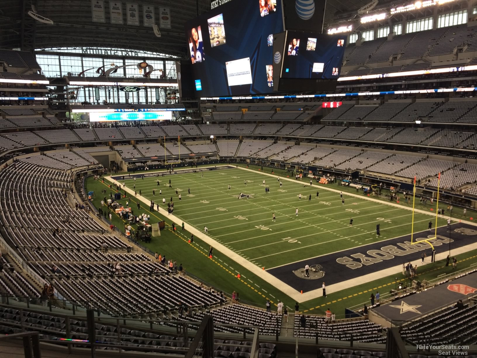 AT&T Stadium Section 328 - Dallas Cowboys - RateYourSeats.com