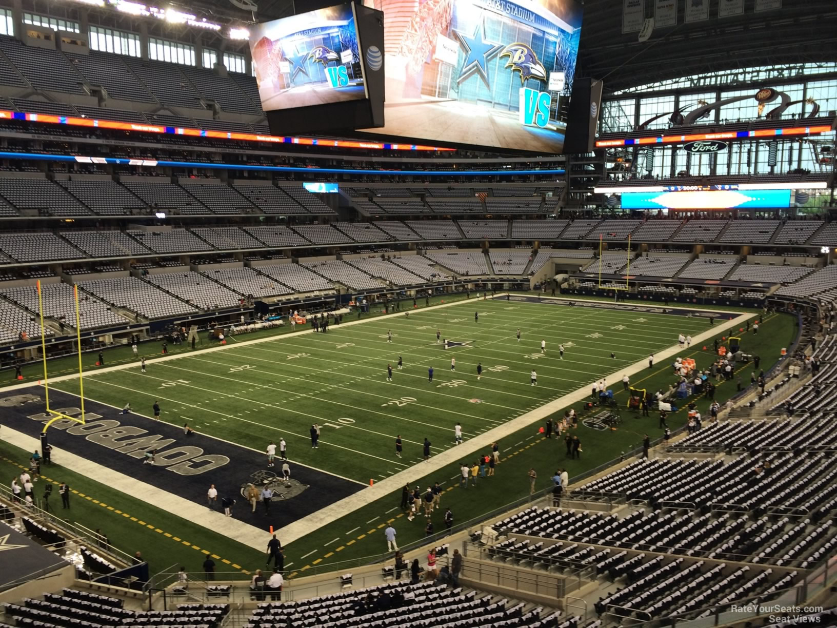 At Amp T Stadium Section 318 Dallas Cowboys Rateyourseats Com