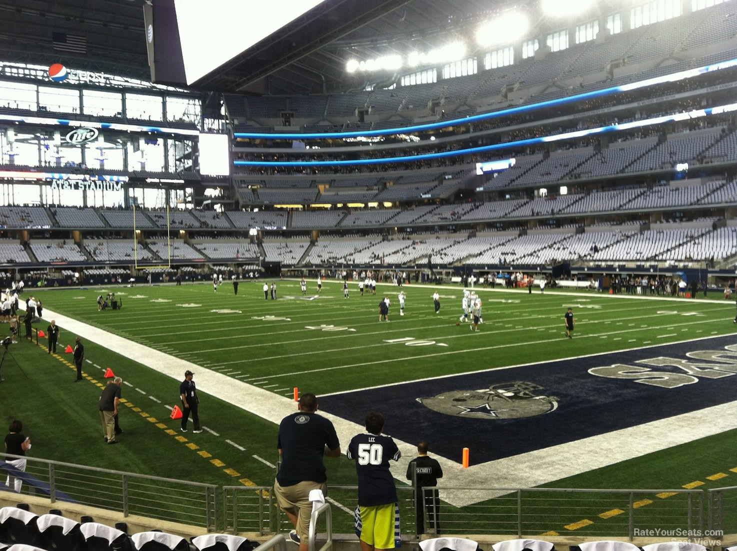 AT&T Stadium Section 101 - Dallas Cowboys - RateYourSeats.com
