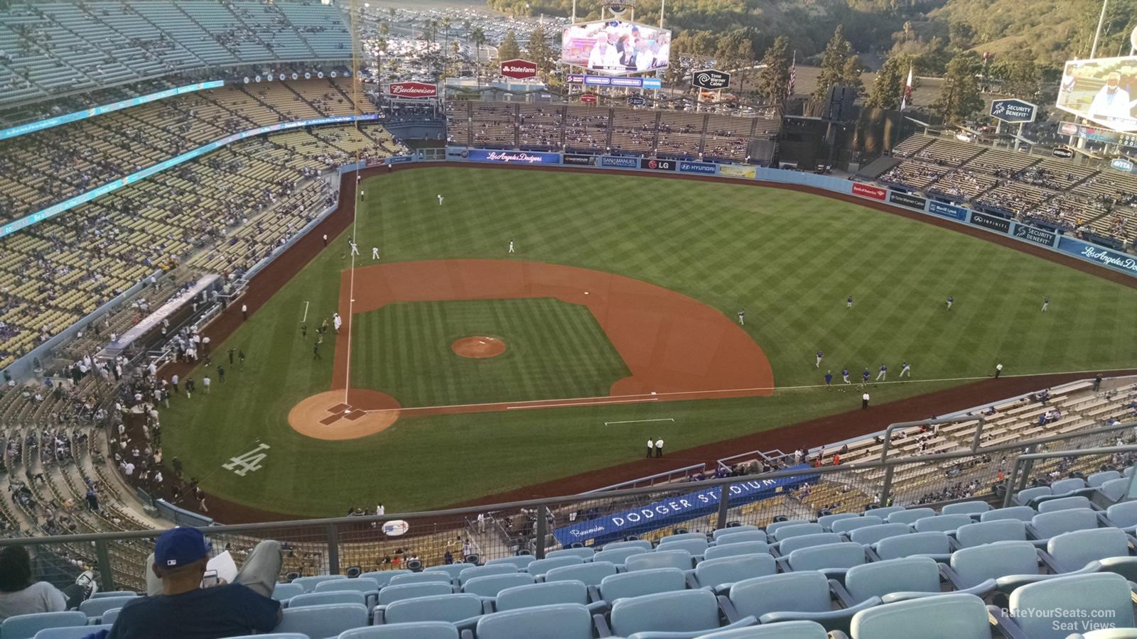 Dodger Stadium Top Deck 10 - RateYourSeats.com