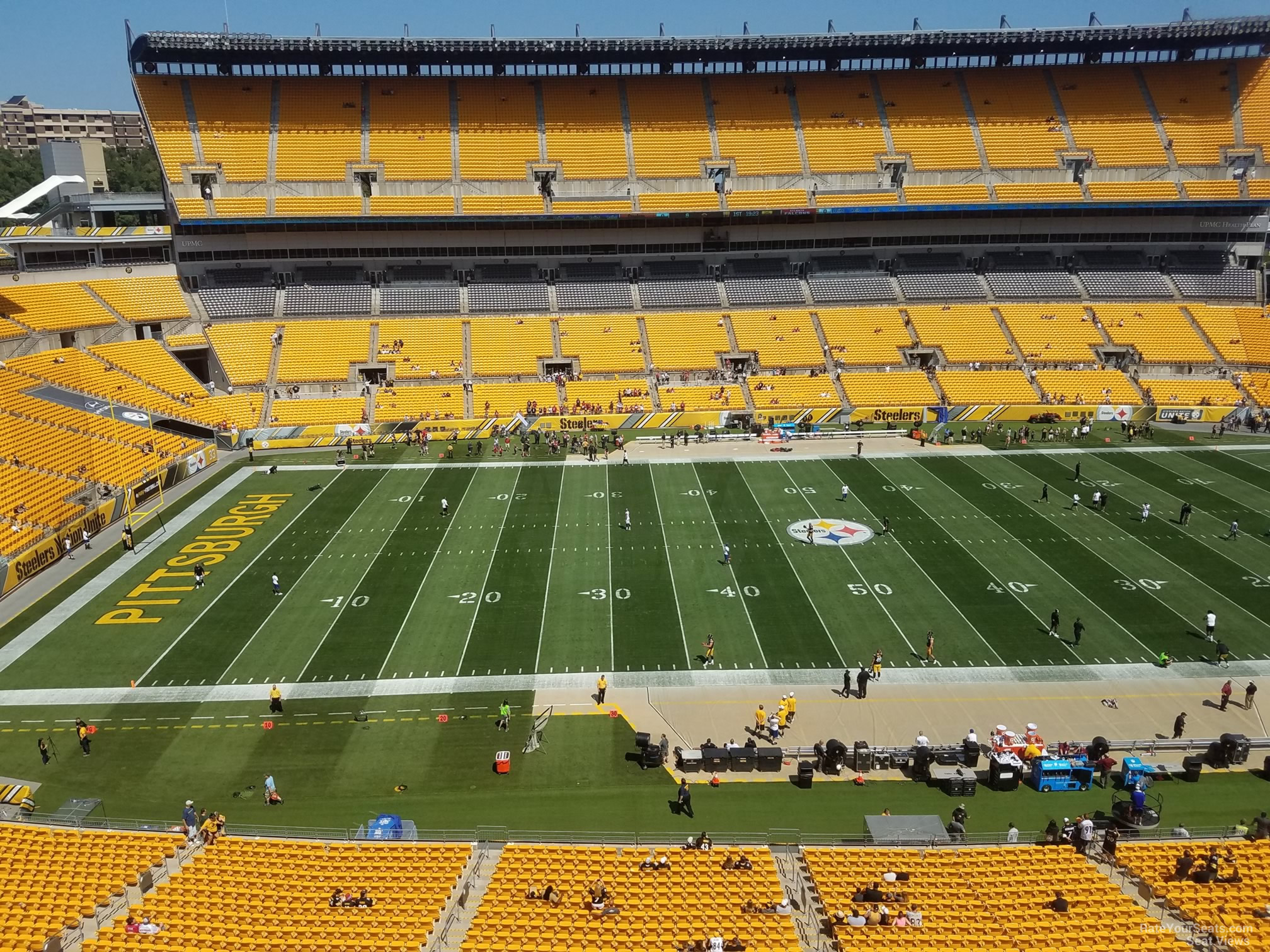 Heinz Field Section 533 - Pittsburgh Steelers ...