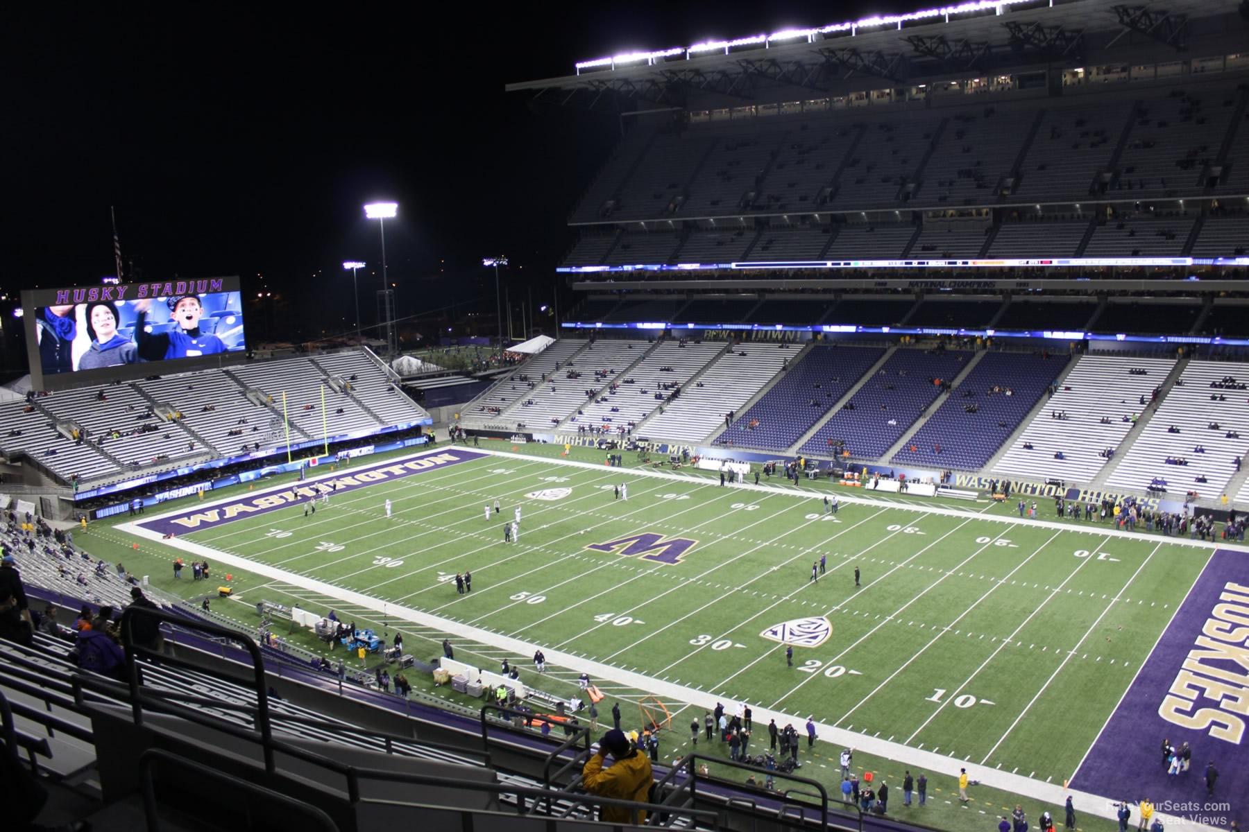 Husky Stadium Section 325 Rateyourseats Com