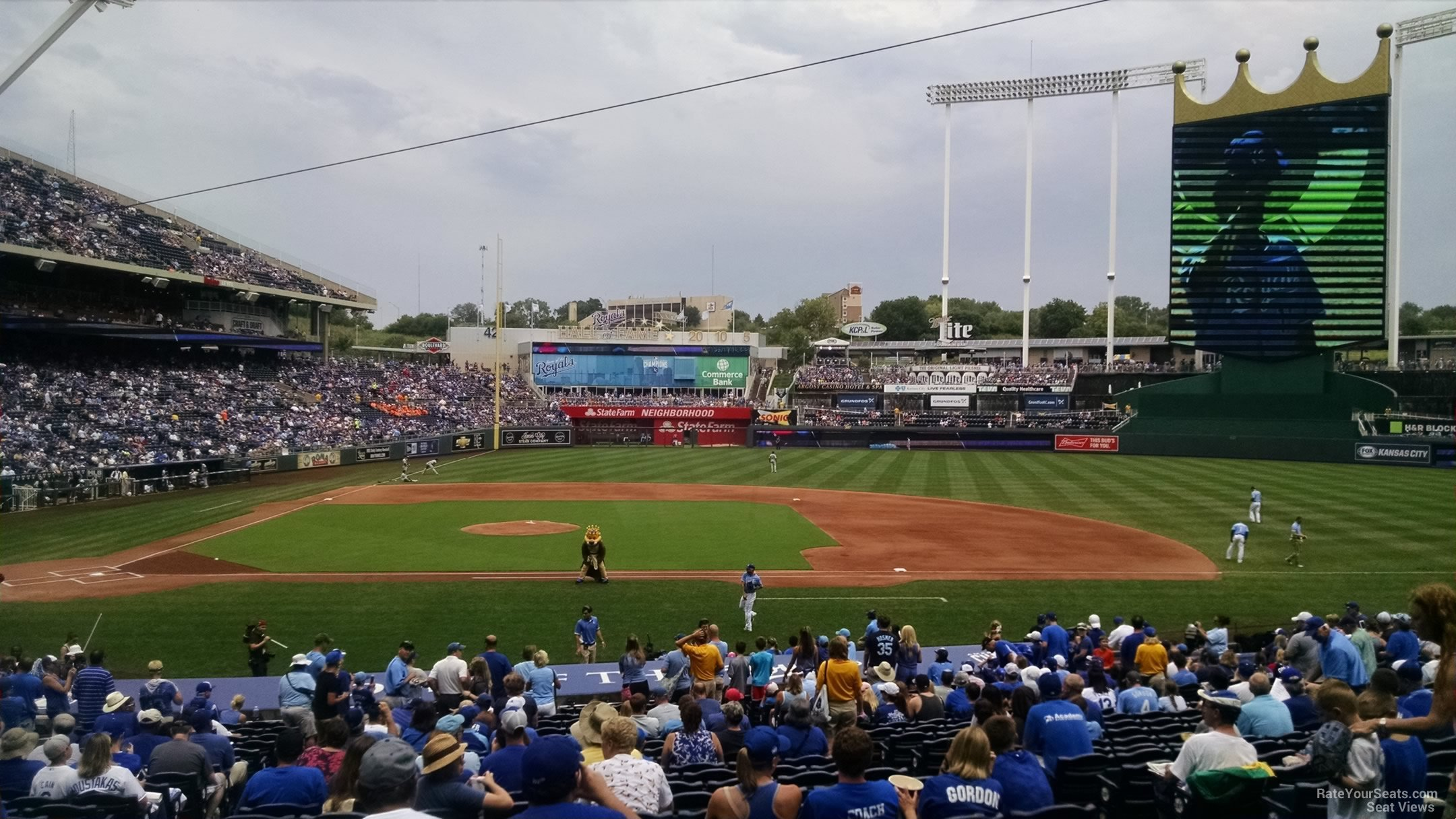 Kauffman Stadium Seating Chart With Rows - Best Car Update ...