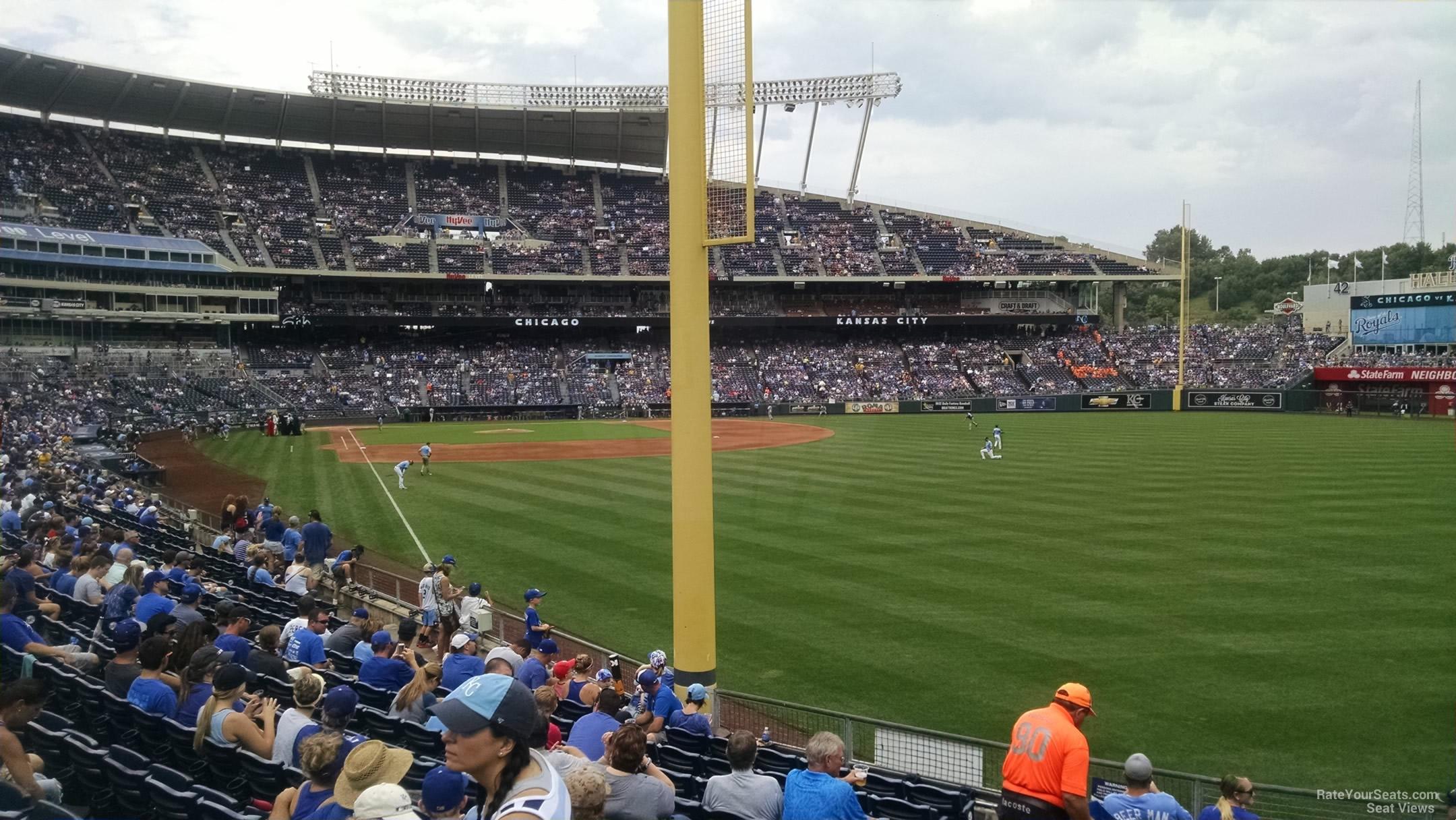 Kauffman Stadium Section 148 - RateYourSeats.com