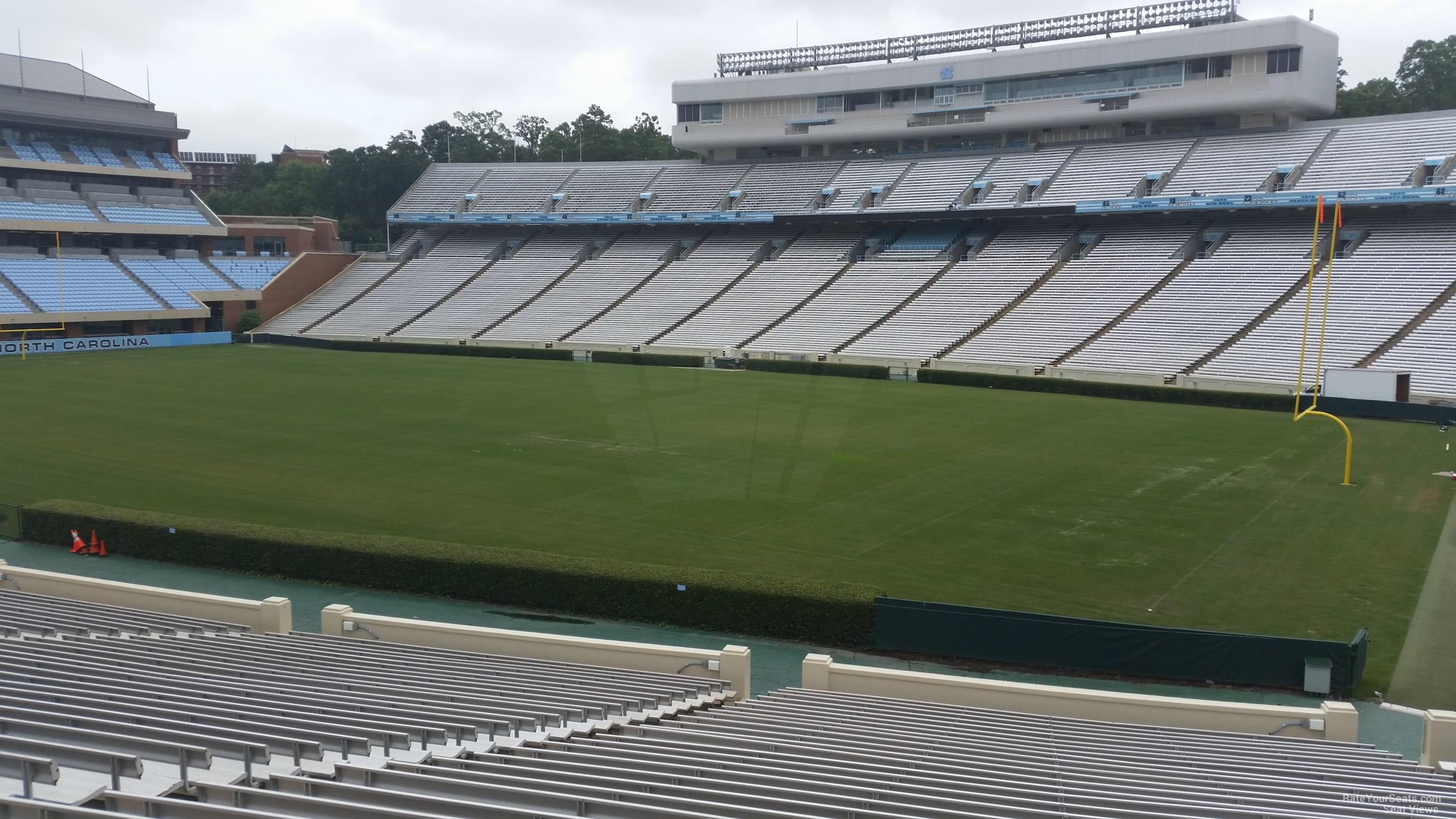 Triple Aaa Number >> Kenan Memorial Stadium Section 111 - RateYourSeats.com
