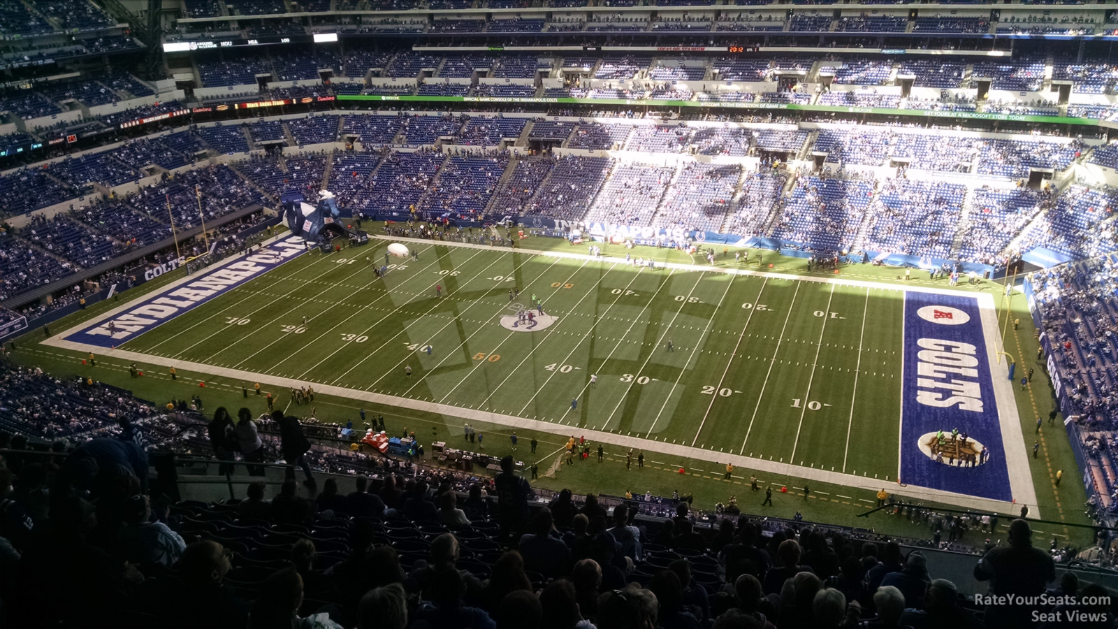 Lucas oil stadium section 610 indianapolis colts for Terrace end zone lucas oil stadium