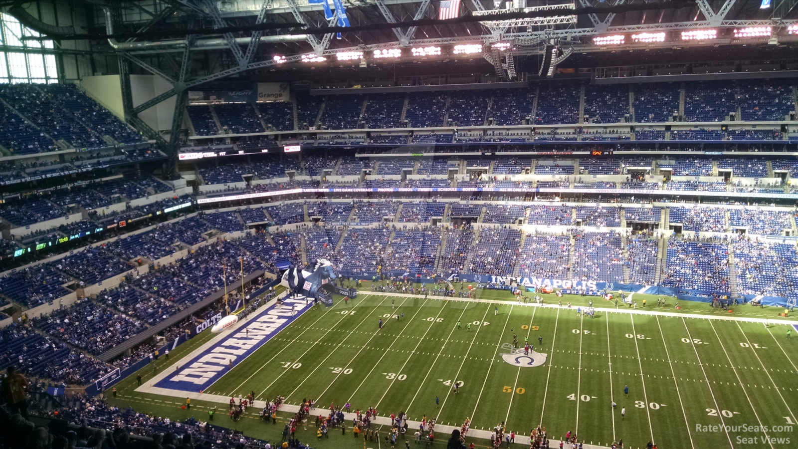 Lucas oil stadium section 612 indianapolis colts for Terrace end zone lucas oil stadium
