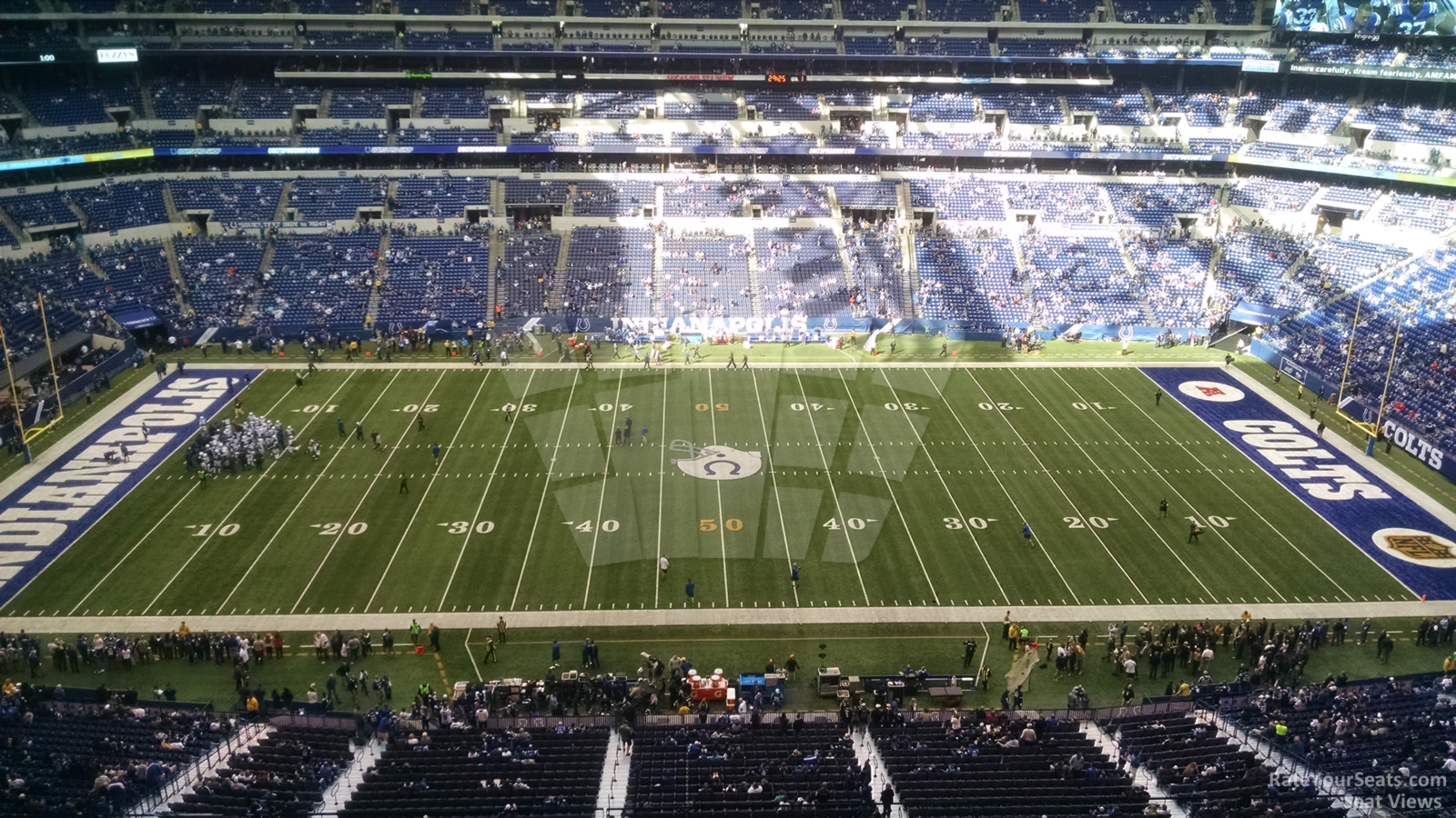 Indianapolis colts lucas oil stadium section 613 for Terrace end zone lucas oil stadium