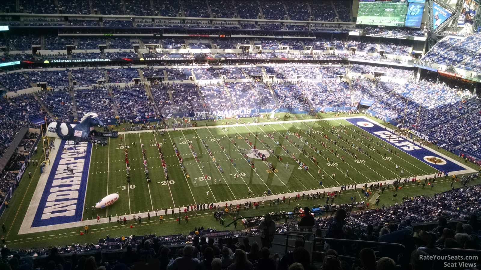 Lucas oil stadium section 616 indianapolis colts for Terrace end zone lucas oil stadium