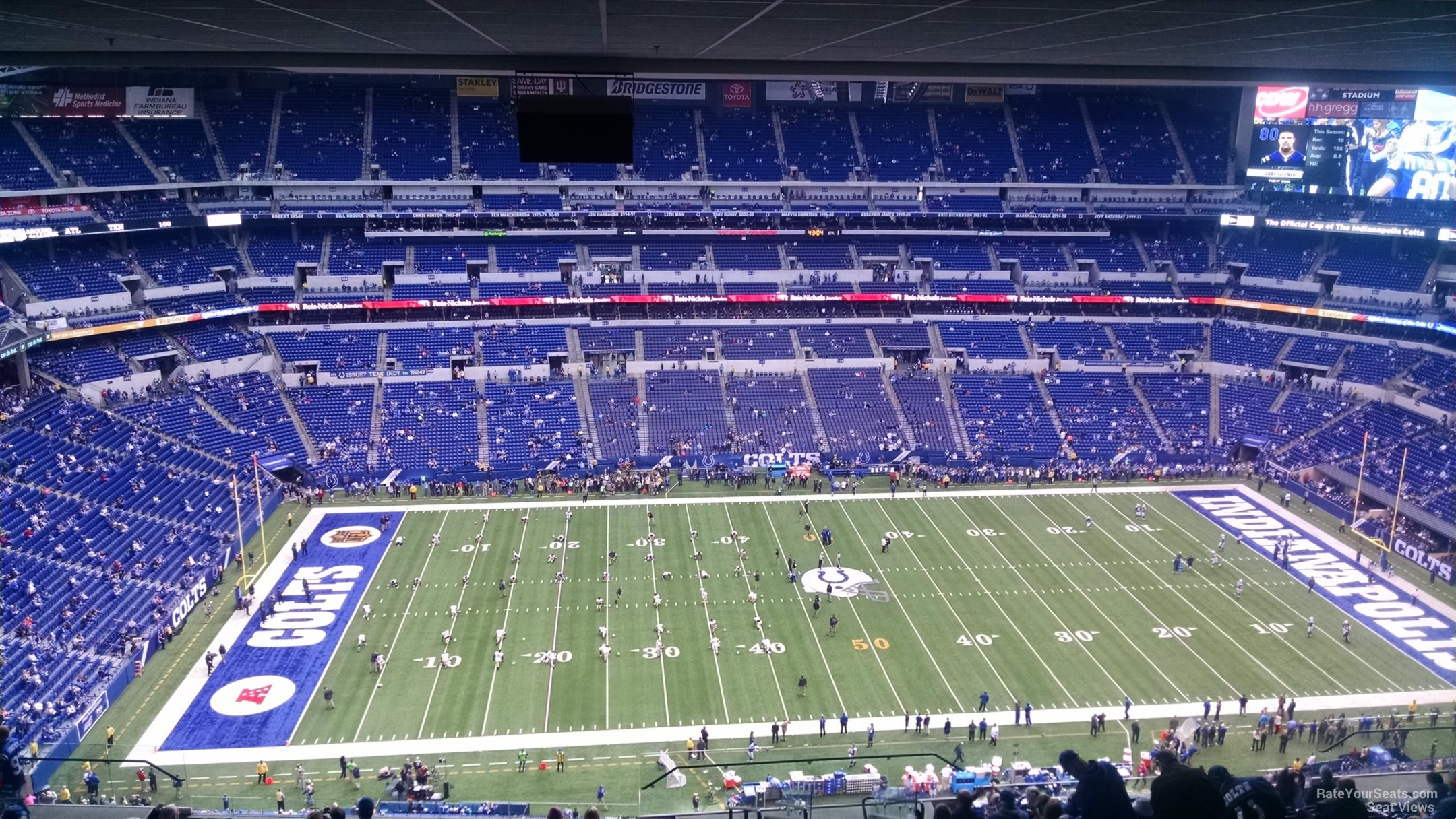 Lucas Oil Stadium Seating Chart Rows Indianapolis Colts