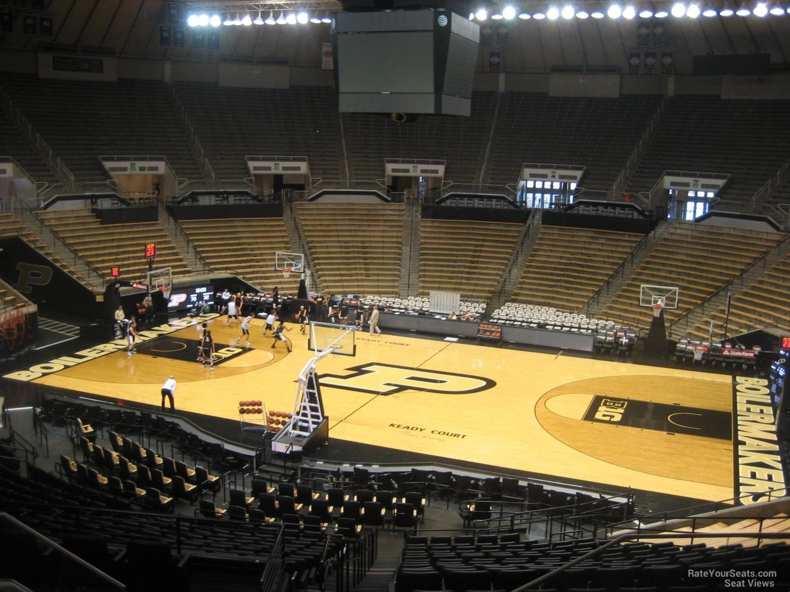 Mackey Arena Section 110 Rateyourseats Com