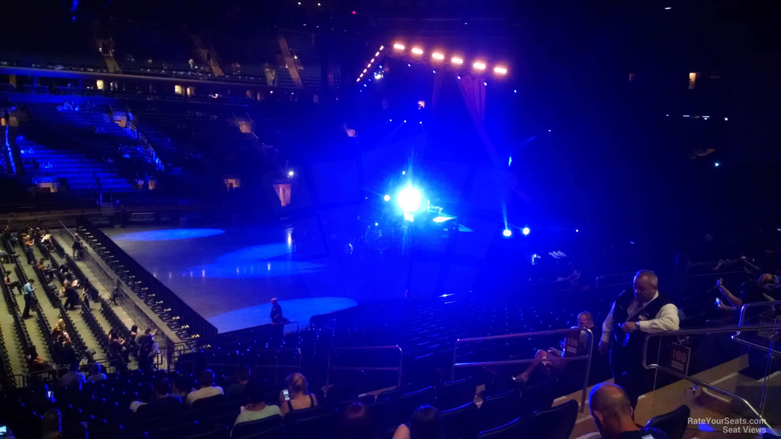 Madison Square Garden Section 106 Concert Seating
