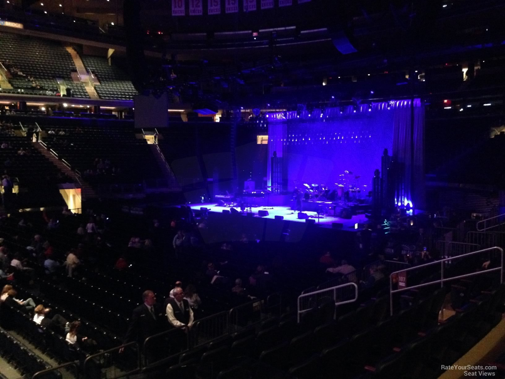 Madison Square Garden Section 107 Concert Seating