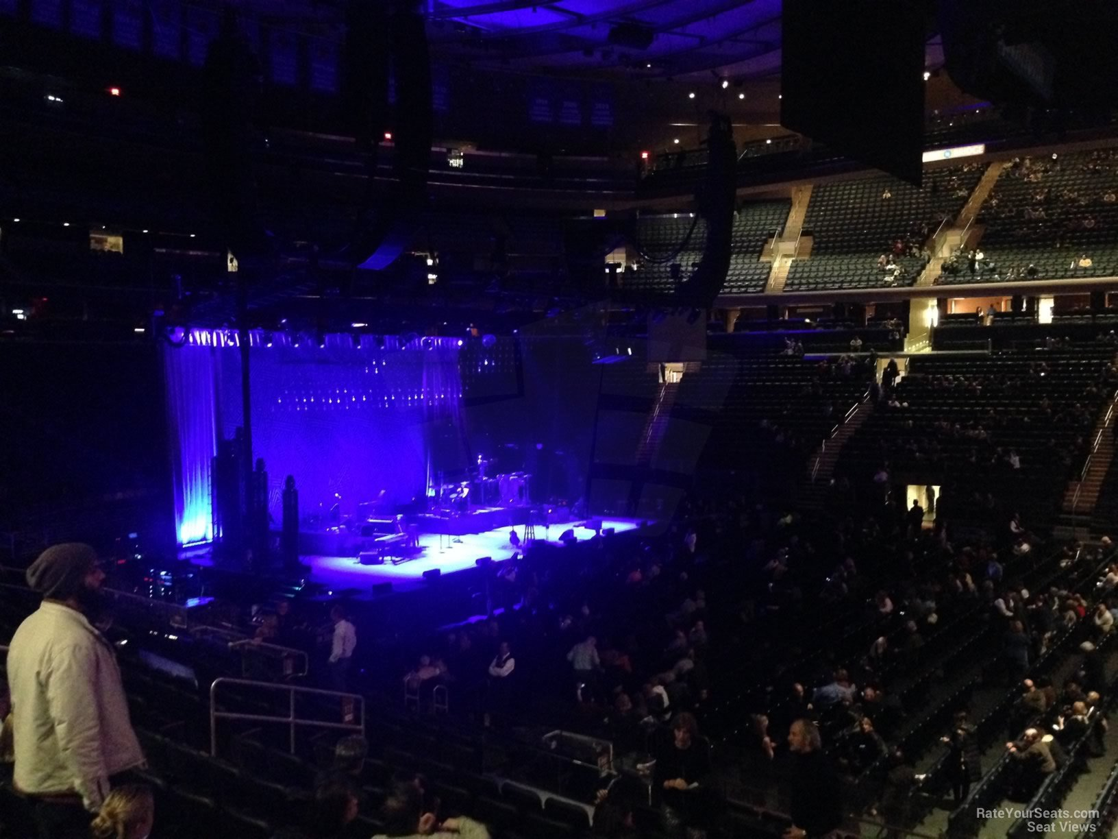 100 Level Side Madison Square Garden Concert Seating