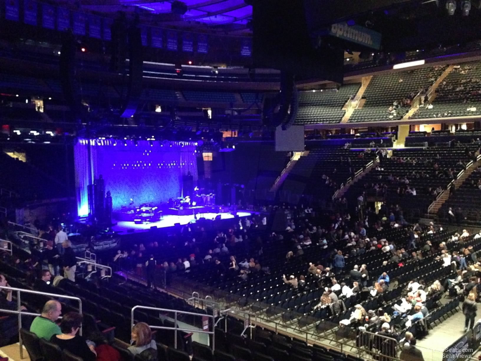 Madison Square Garden Section 118 Concert Seating