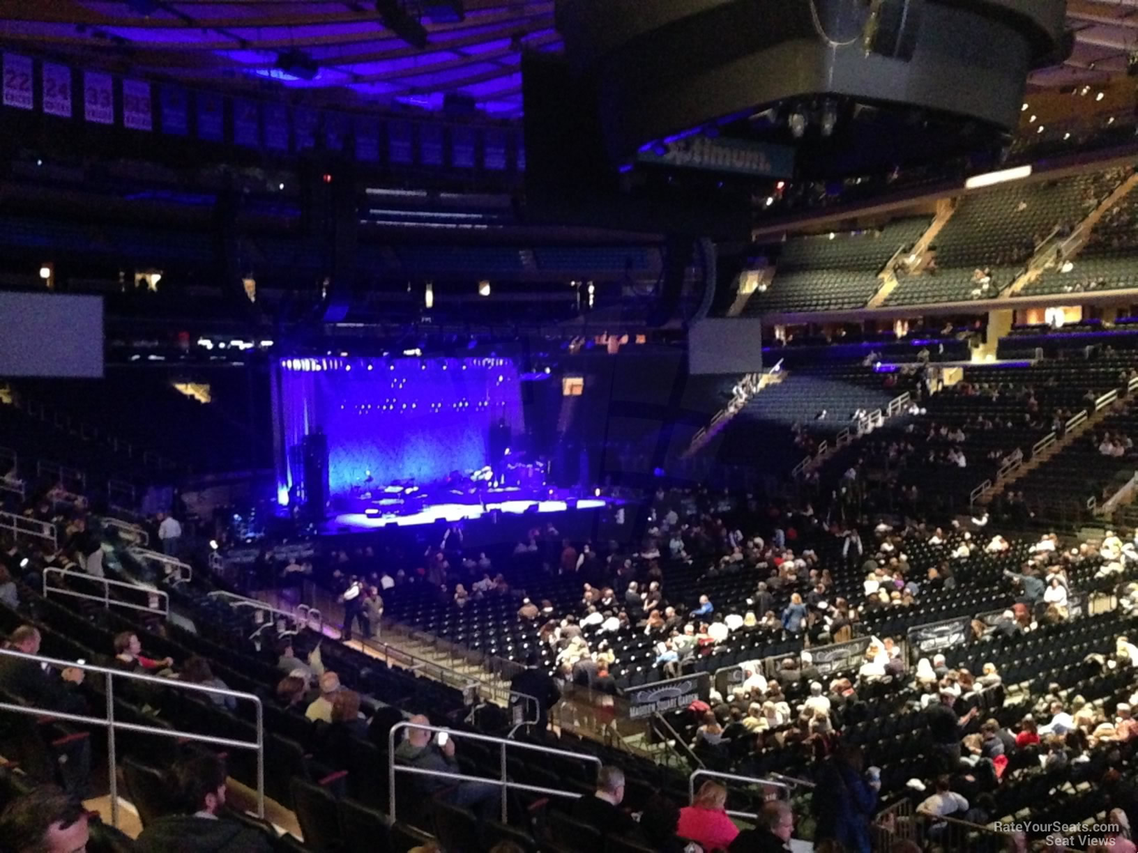 Madison Square Garden Section 119 Concert Seating