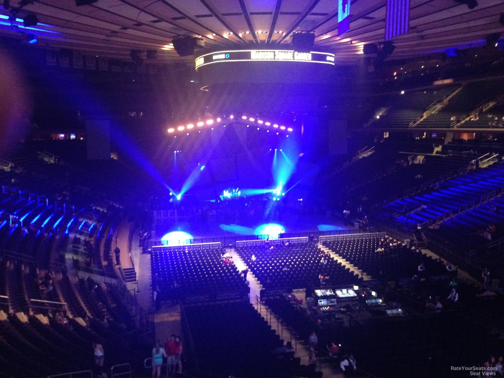 Madison Square Garden Section 203 Concert Seating ...