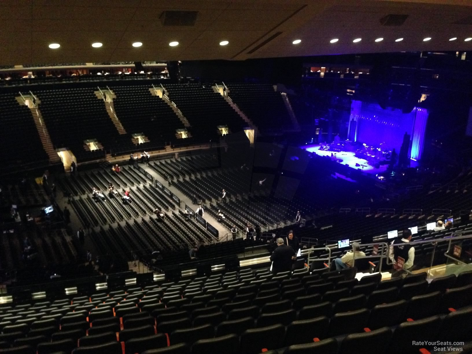 Madison Square Garden Section 209 Concert Seating