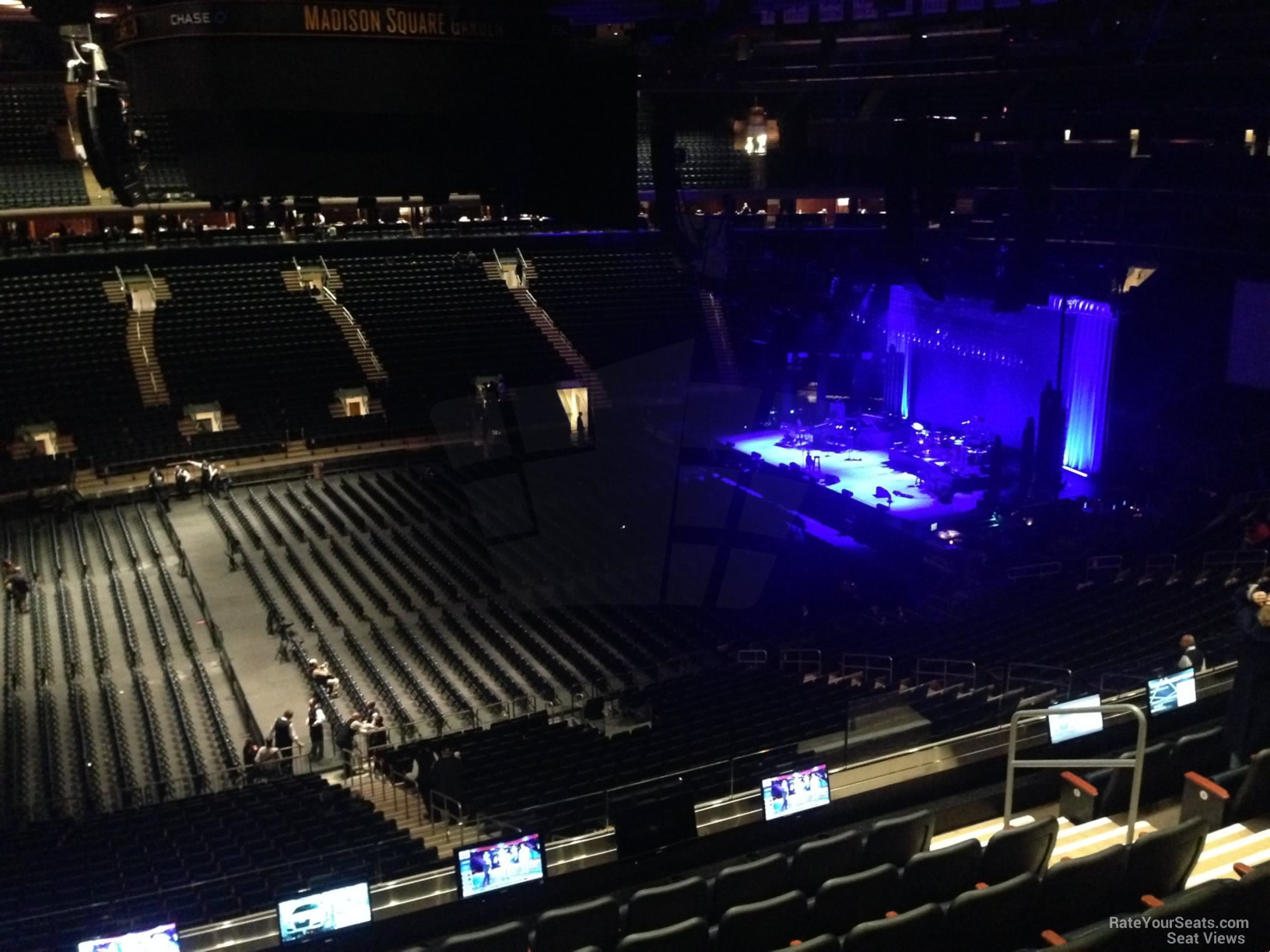 Madison Square Garden Section 210 Concert Seating