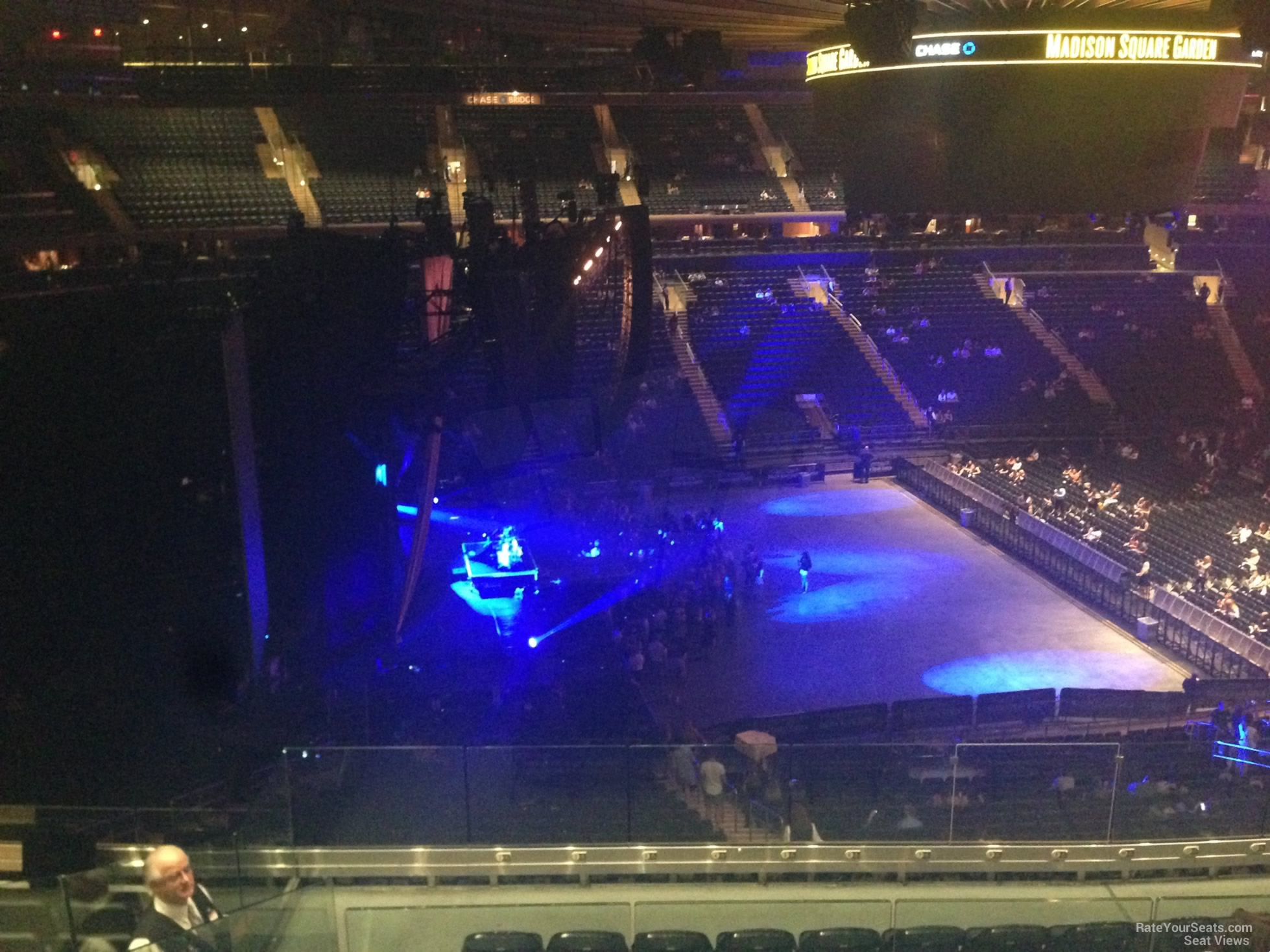 Madison Square Garden Section 222 Concert Seating