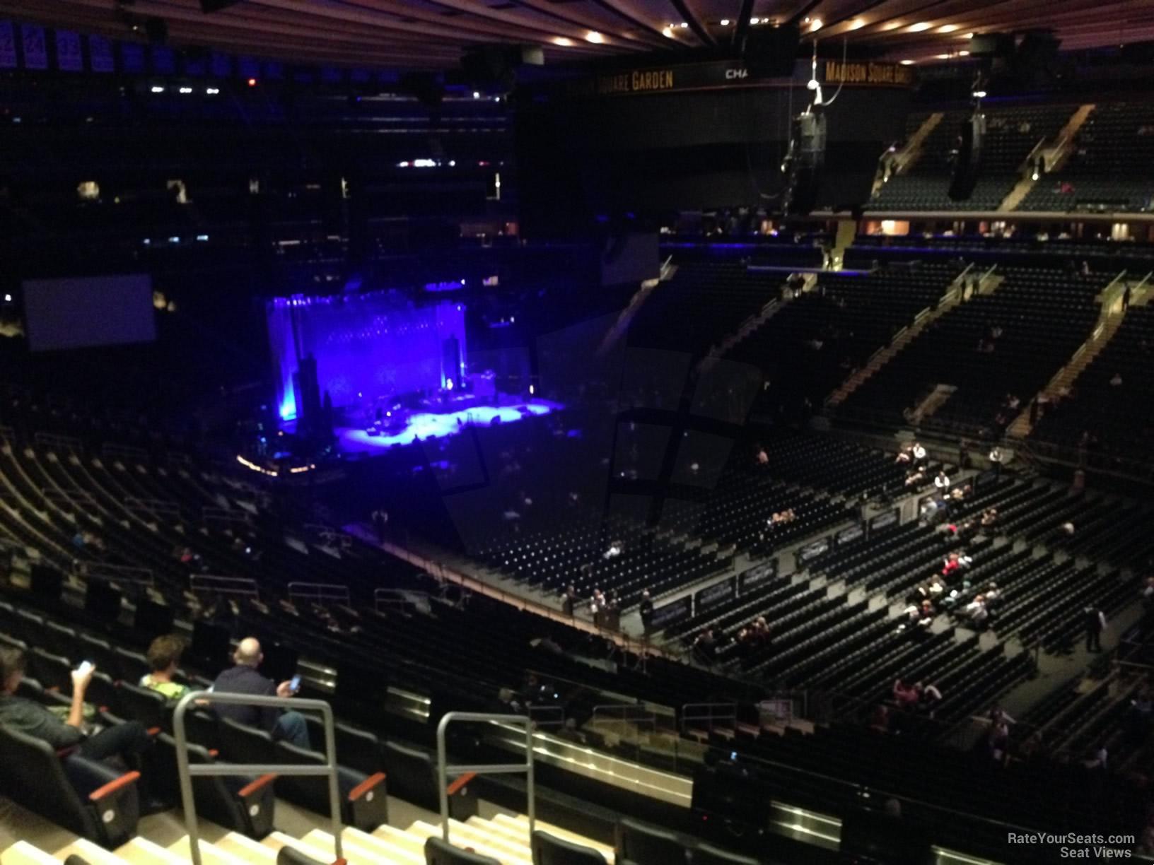 200 Level Corner - Madison Square Garden Concert Seating ...