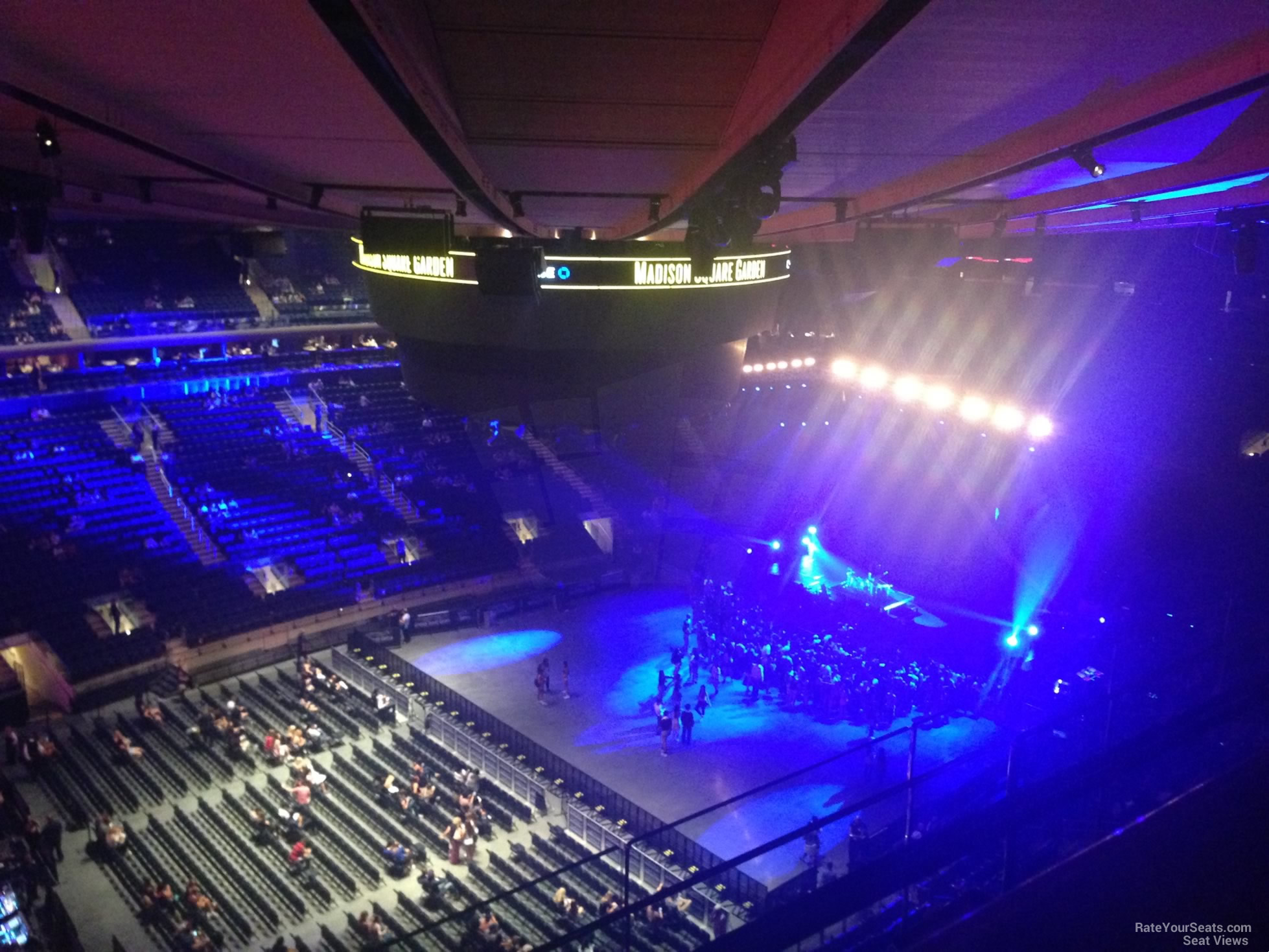 Madison Square Garden Section 311 Concert Seating