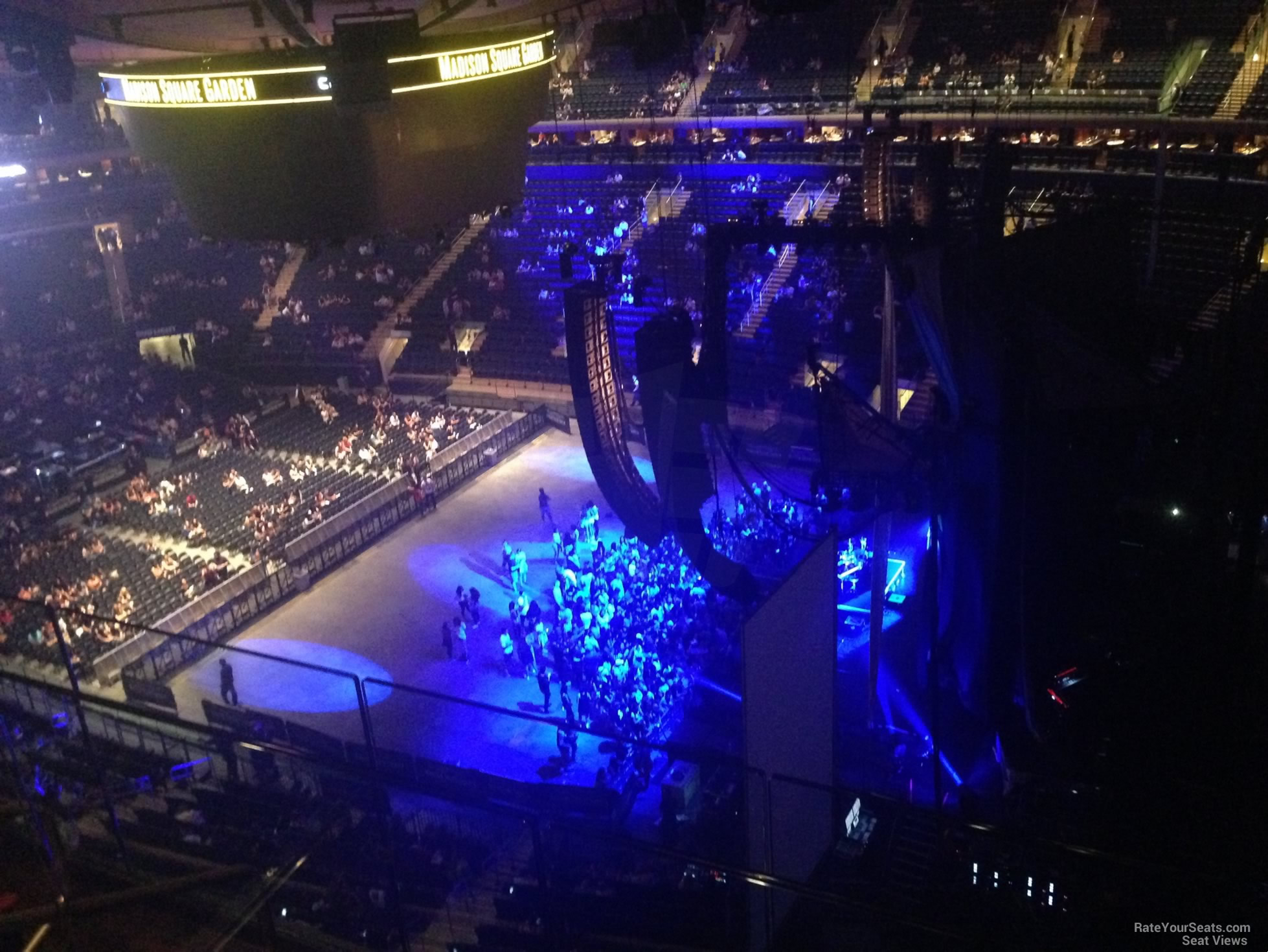 Madison Square Garden Section 316 Concert Seating