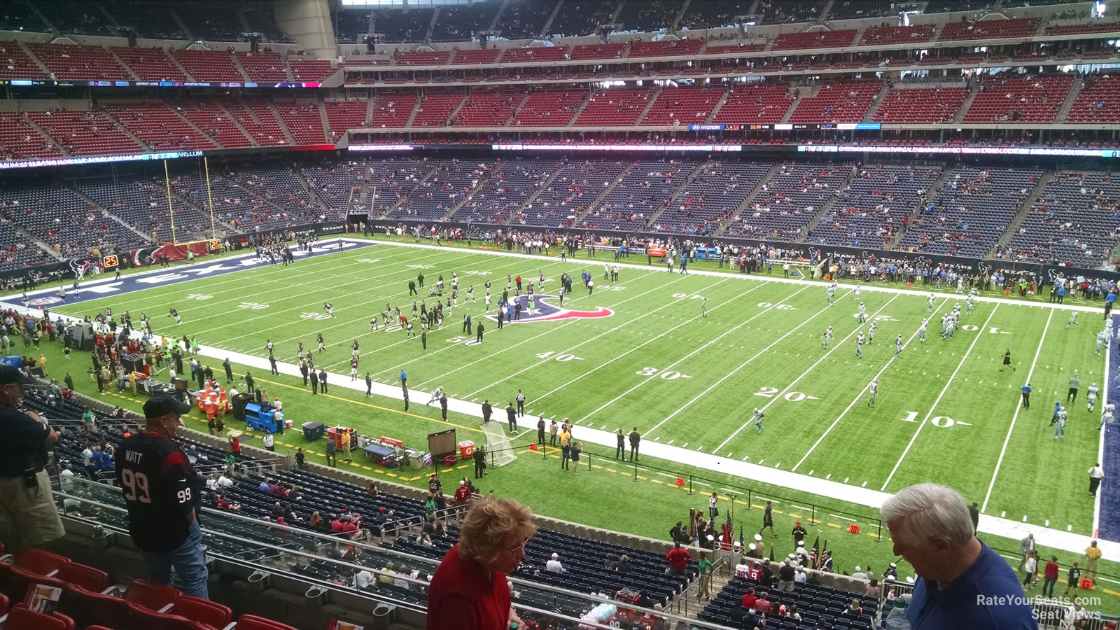 West Houston Vw >> NRG Stadium Section 306 - Houston Texans - RateYourSeats.com