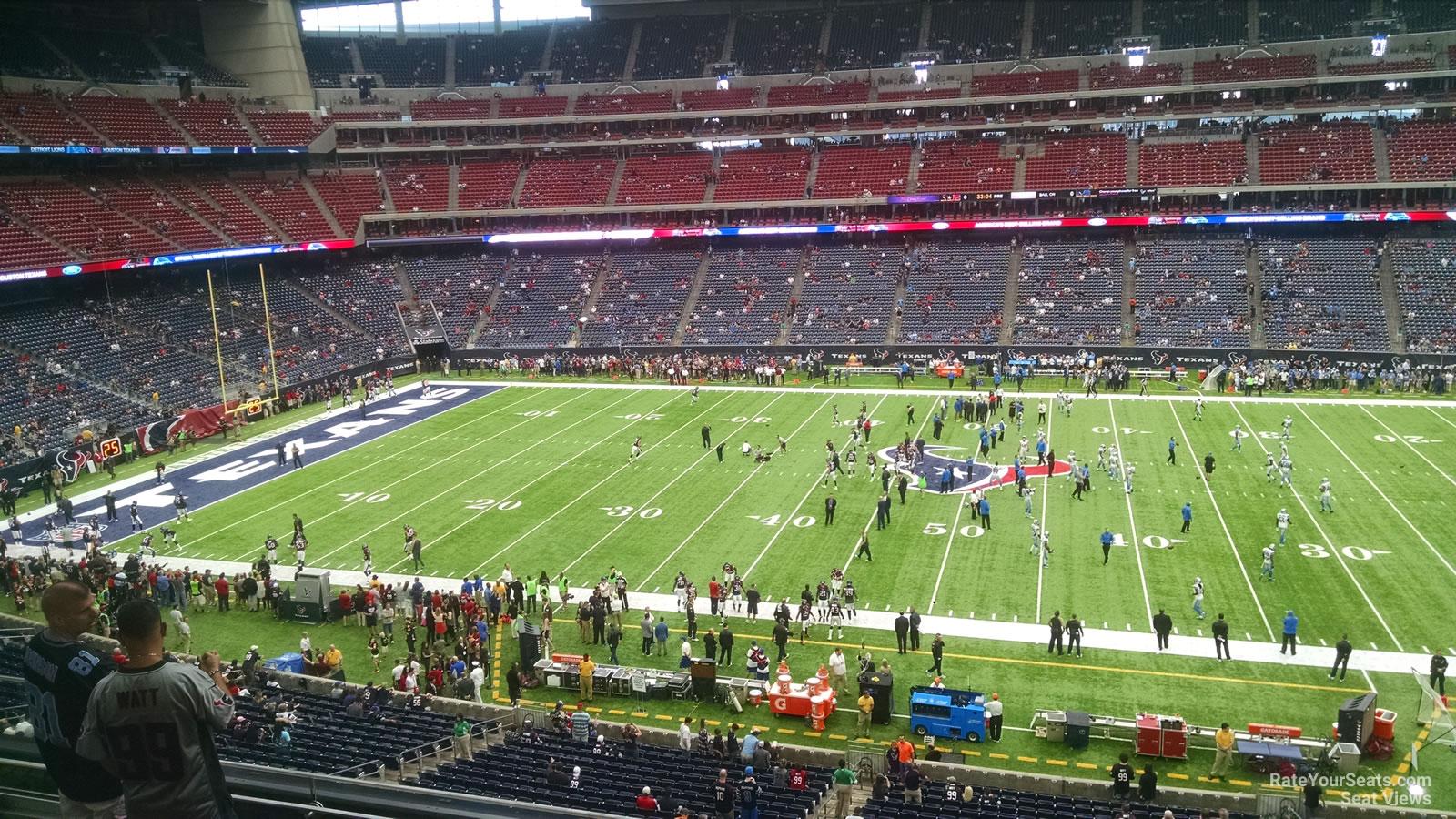 Nrg Stadium Section 309 Houston Texans Rateyourseats Com