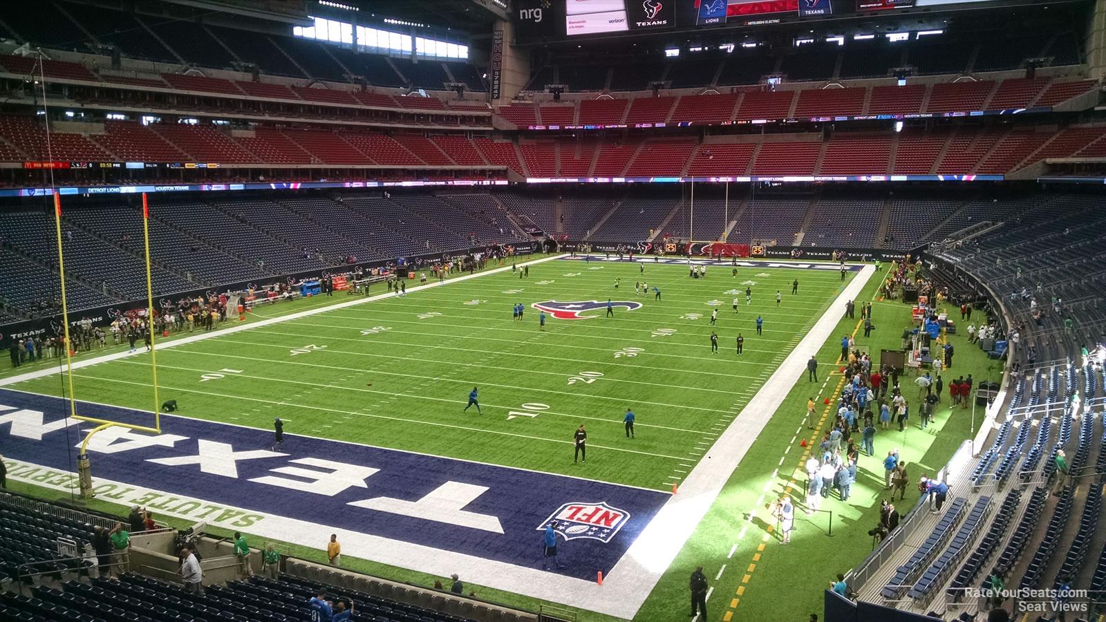 Nrg Stadium Section 348 Houston Texans Rateyourseats Com