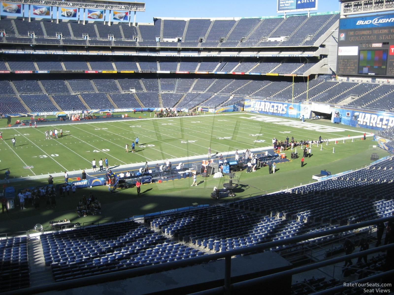 Qualcomm Stadium Club 33 Rateyourseats Com