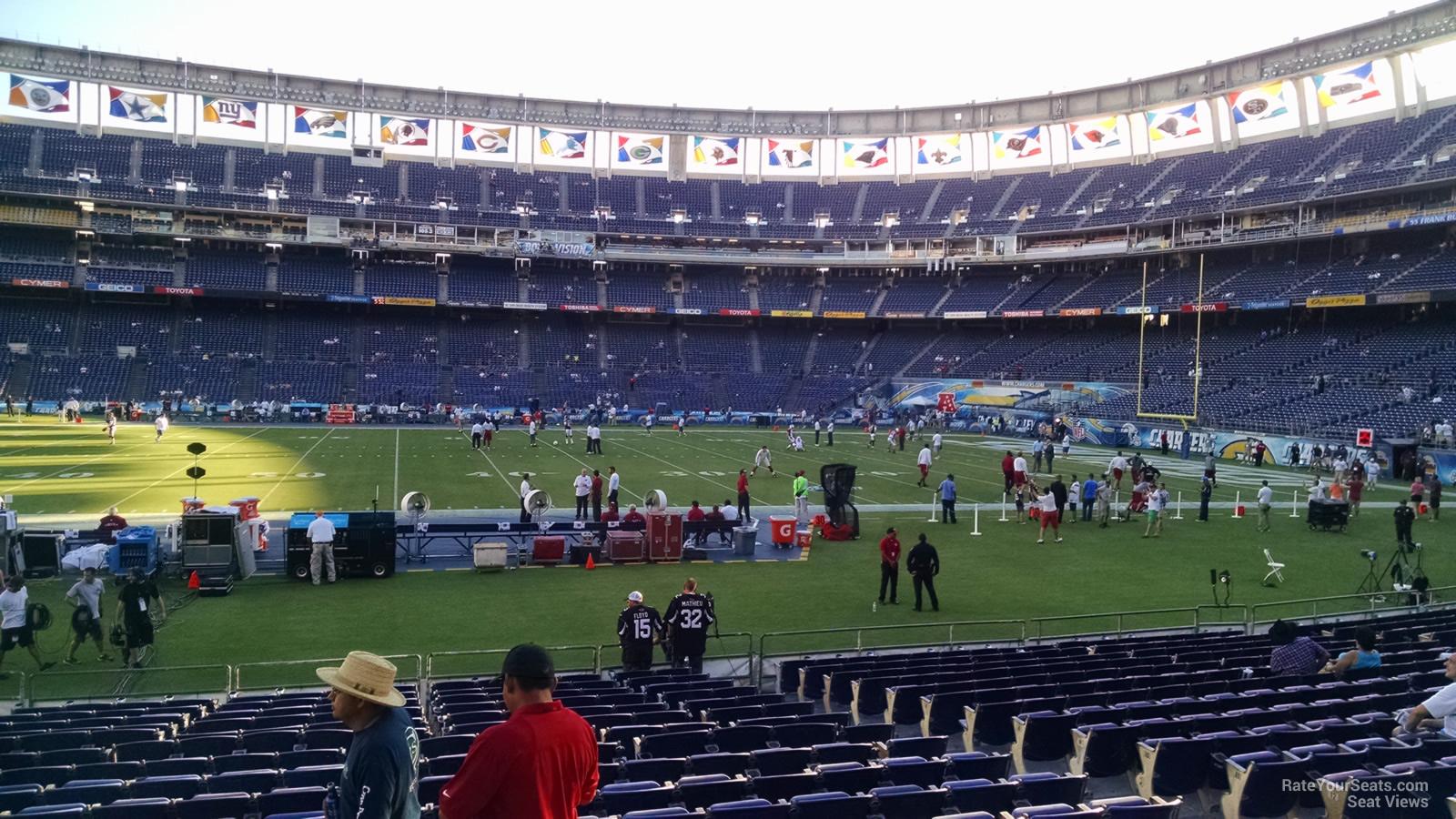 Sdccu Stadium Field 6 Rateyourseats Com