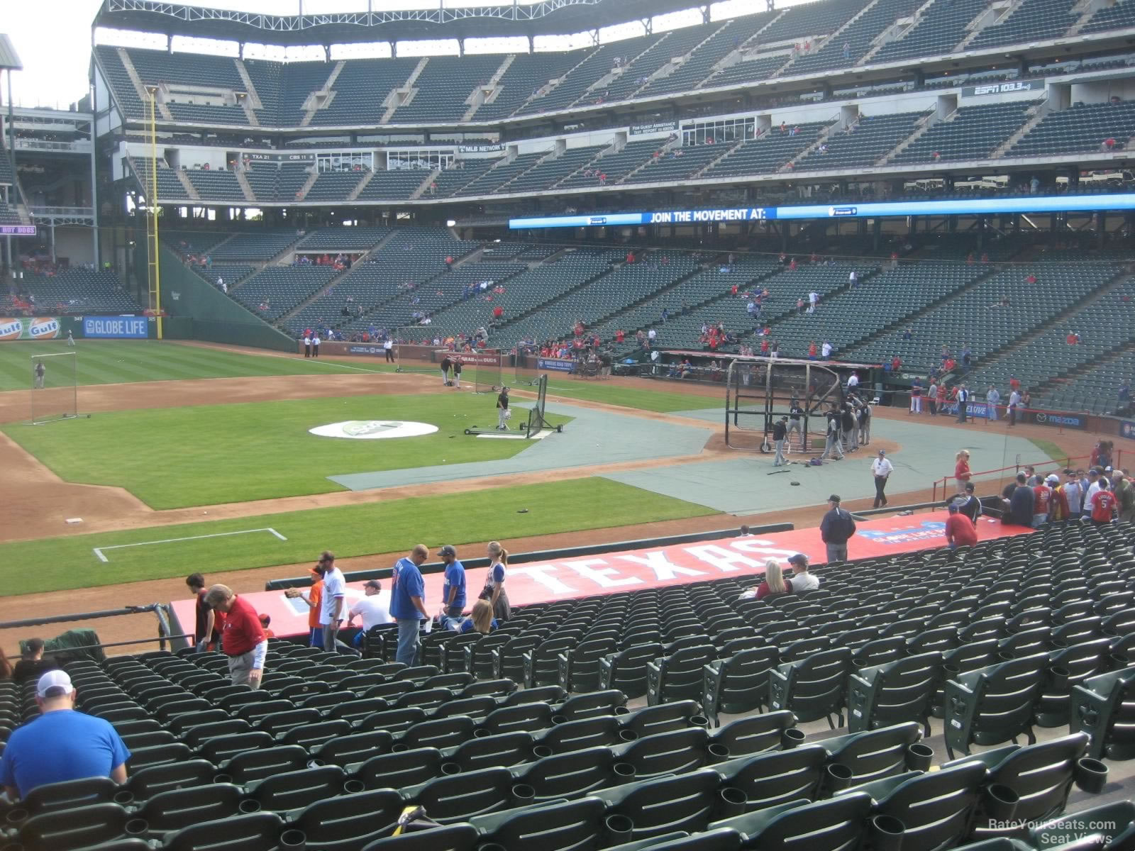 Globe Life Park Section 18 Rateyourseats Com