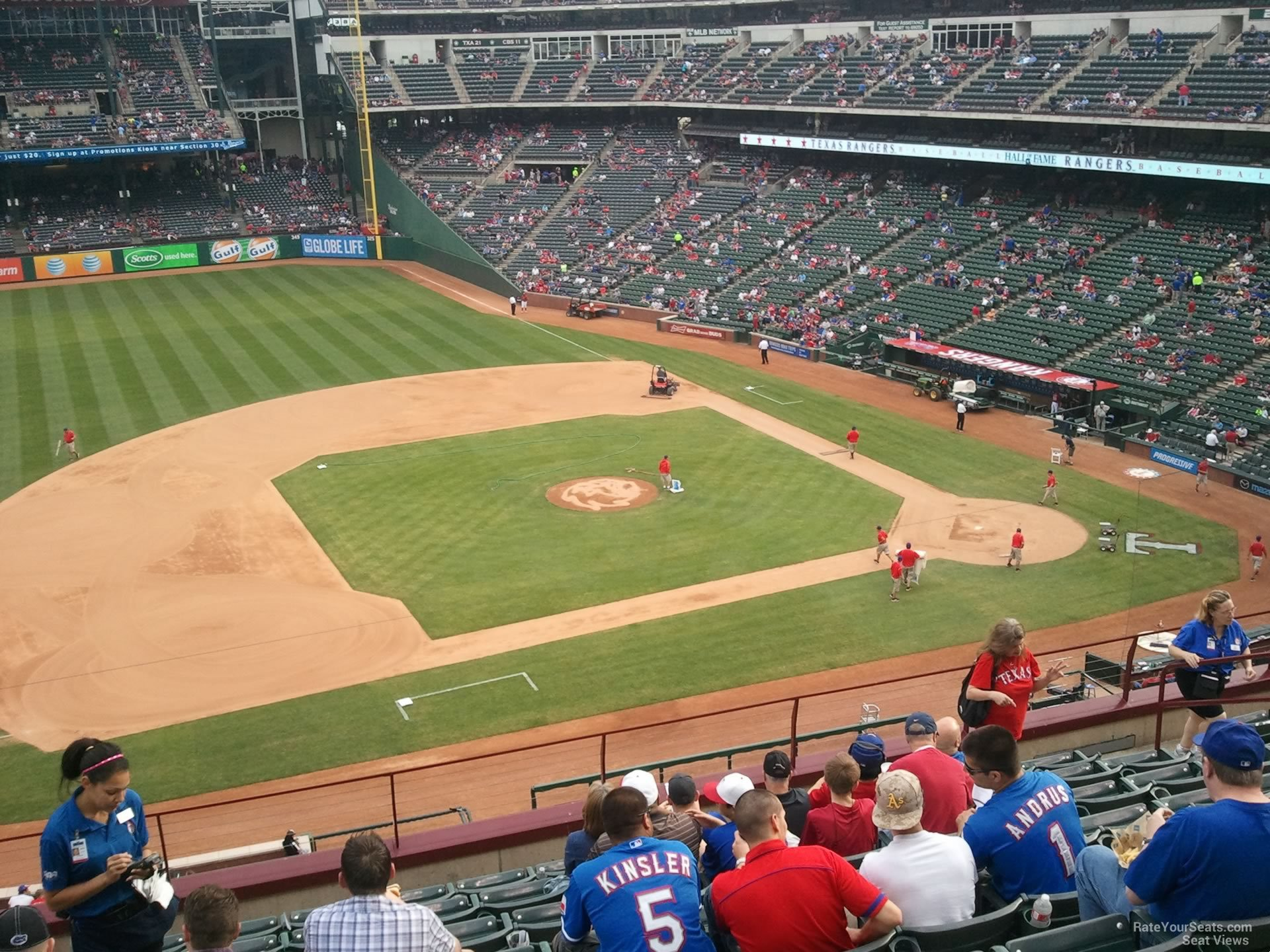 Map Of Texas Rangers Stadium.Texas Rangers Globe Life Park Seating Chart Interactive Map