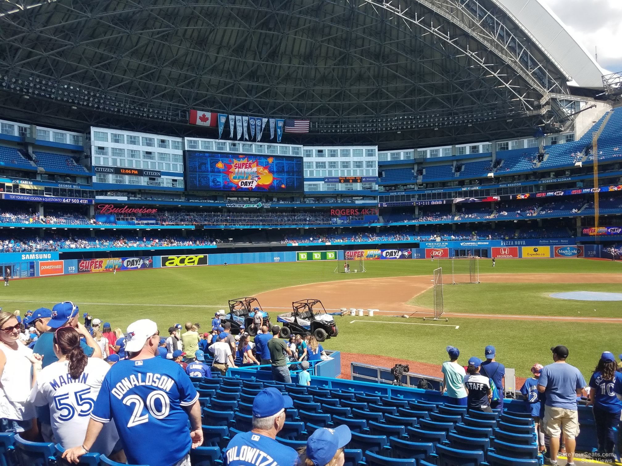 Rogers Centre Section 126 - Toronto Blue Jays ...