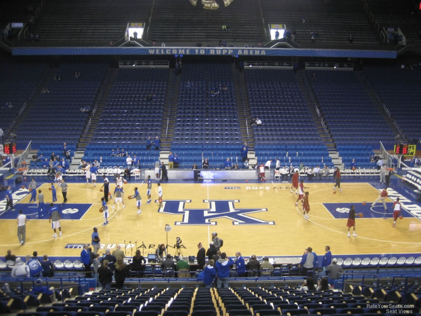 Rupp Arena Section 14 - RateYourSeats.com