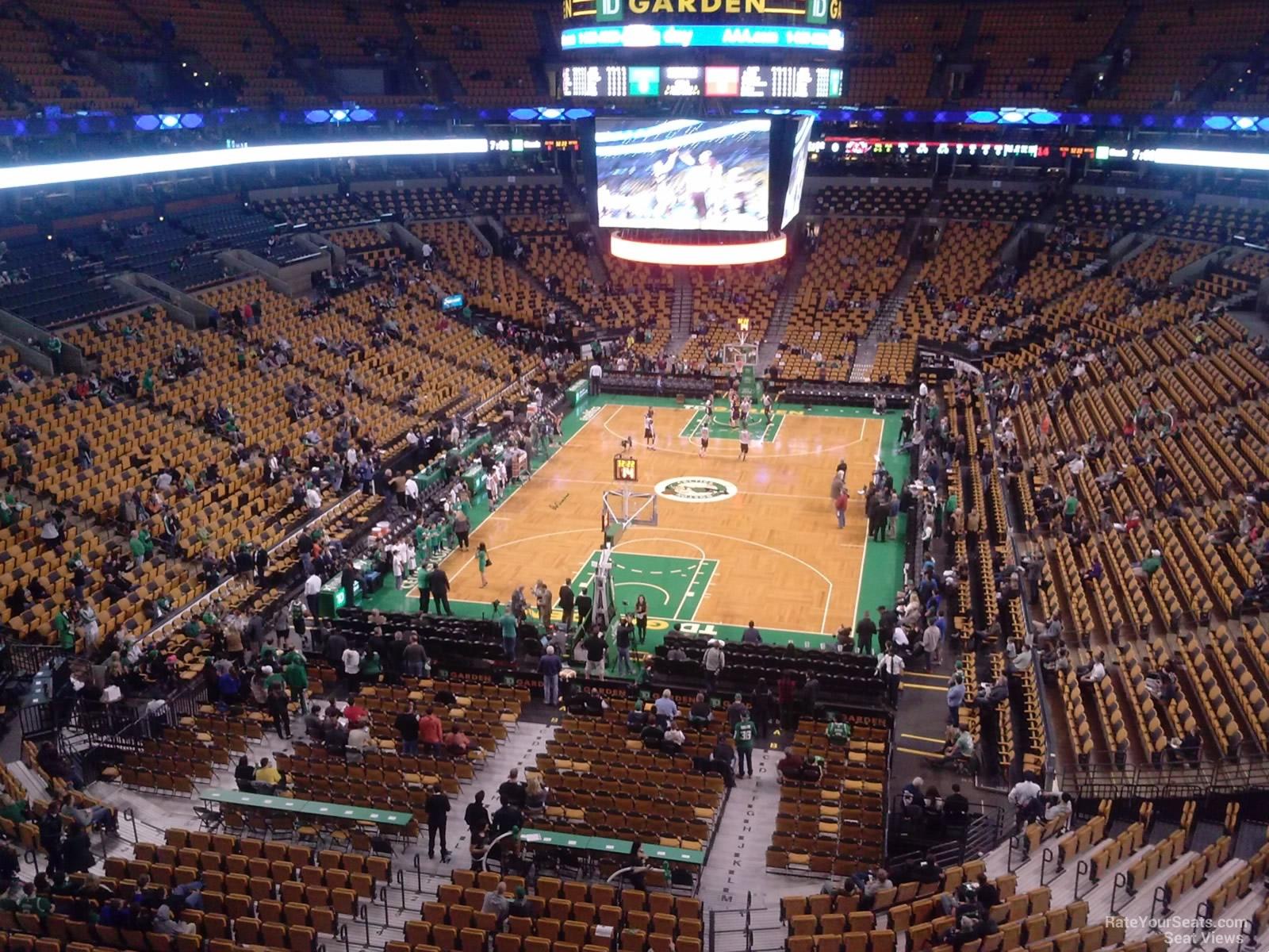 Td Garden Section 323 Boston Celtics