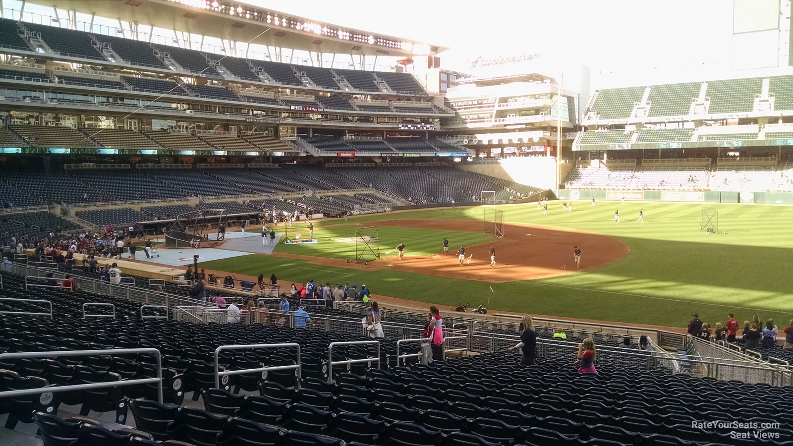 Target Field Section 105 Rateyourseats Com
